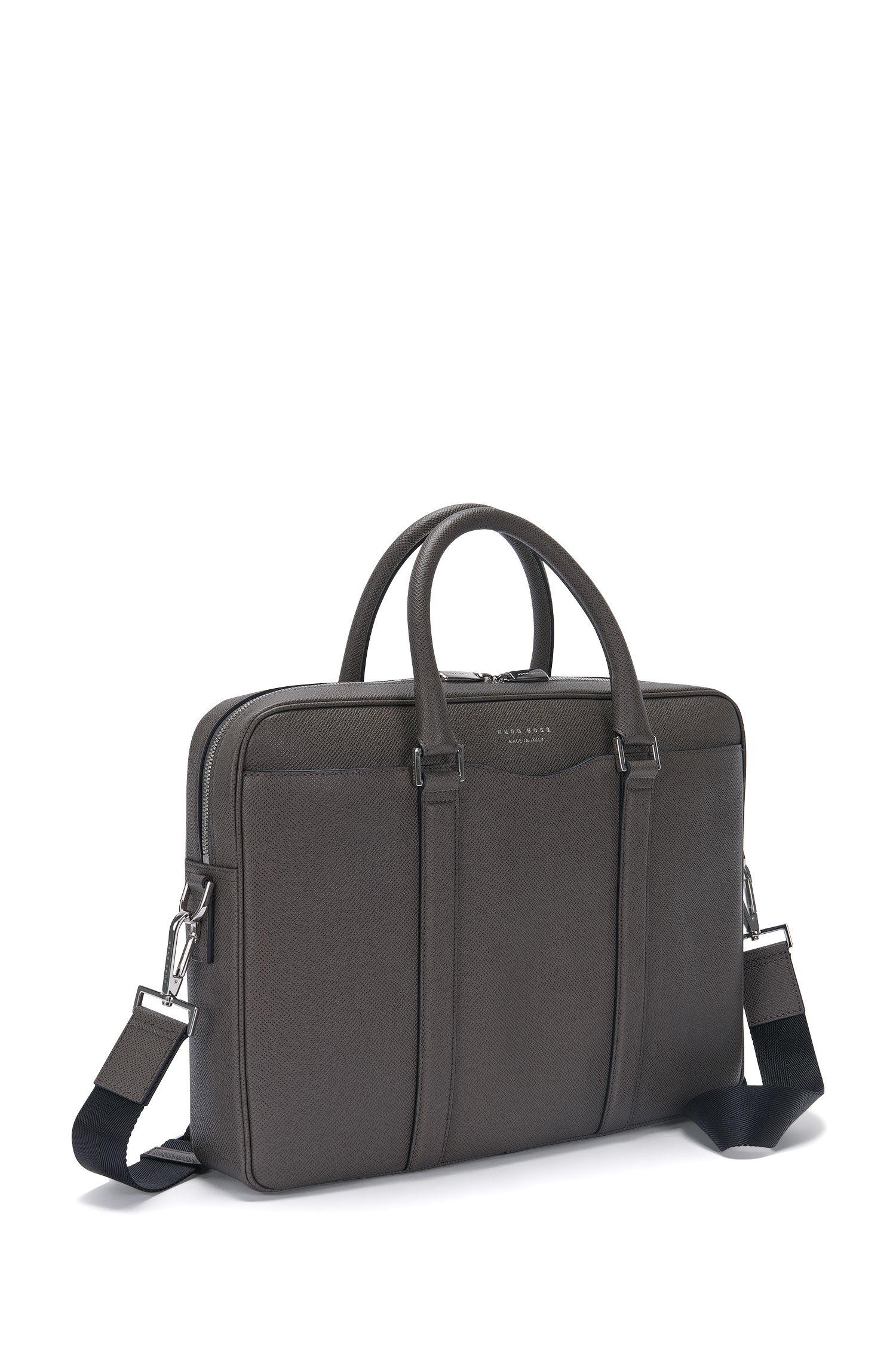 Italian Calfskin Workbag   Signature S Doc