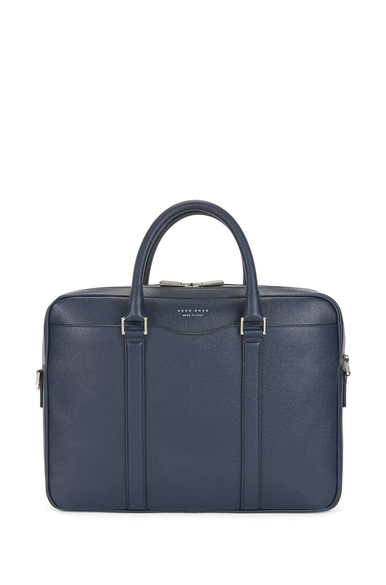 Italian Calfskin Workbag | Signature S Doc