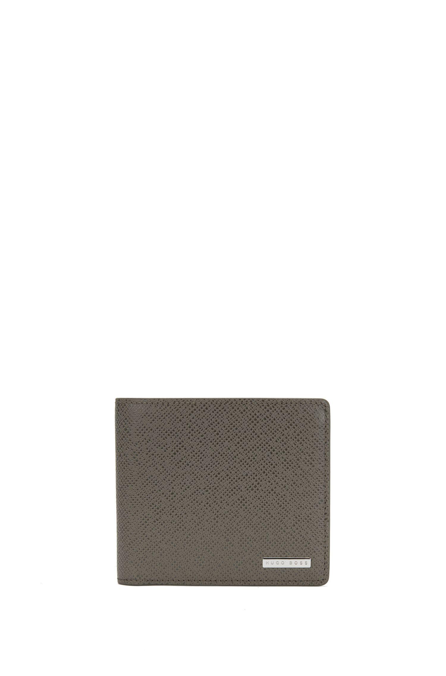 'Signature Coin' | Calfskin Pebbled Wallet