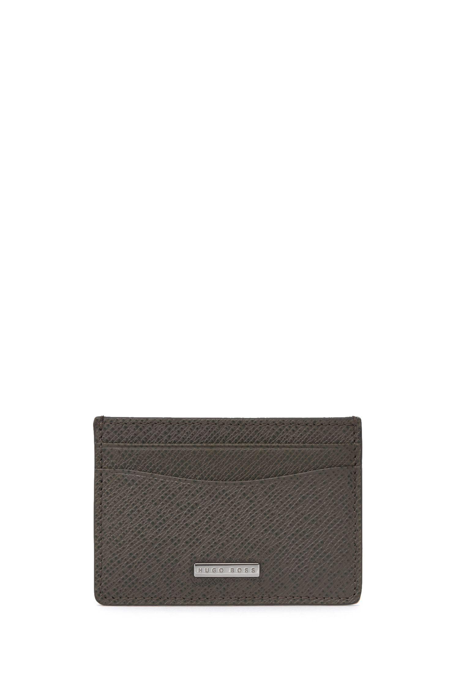 Calfskin Card Case | Signature S Card