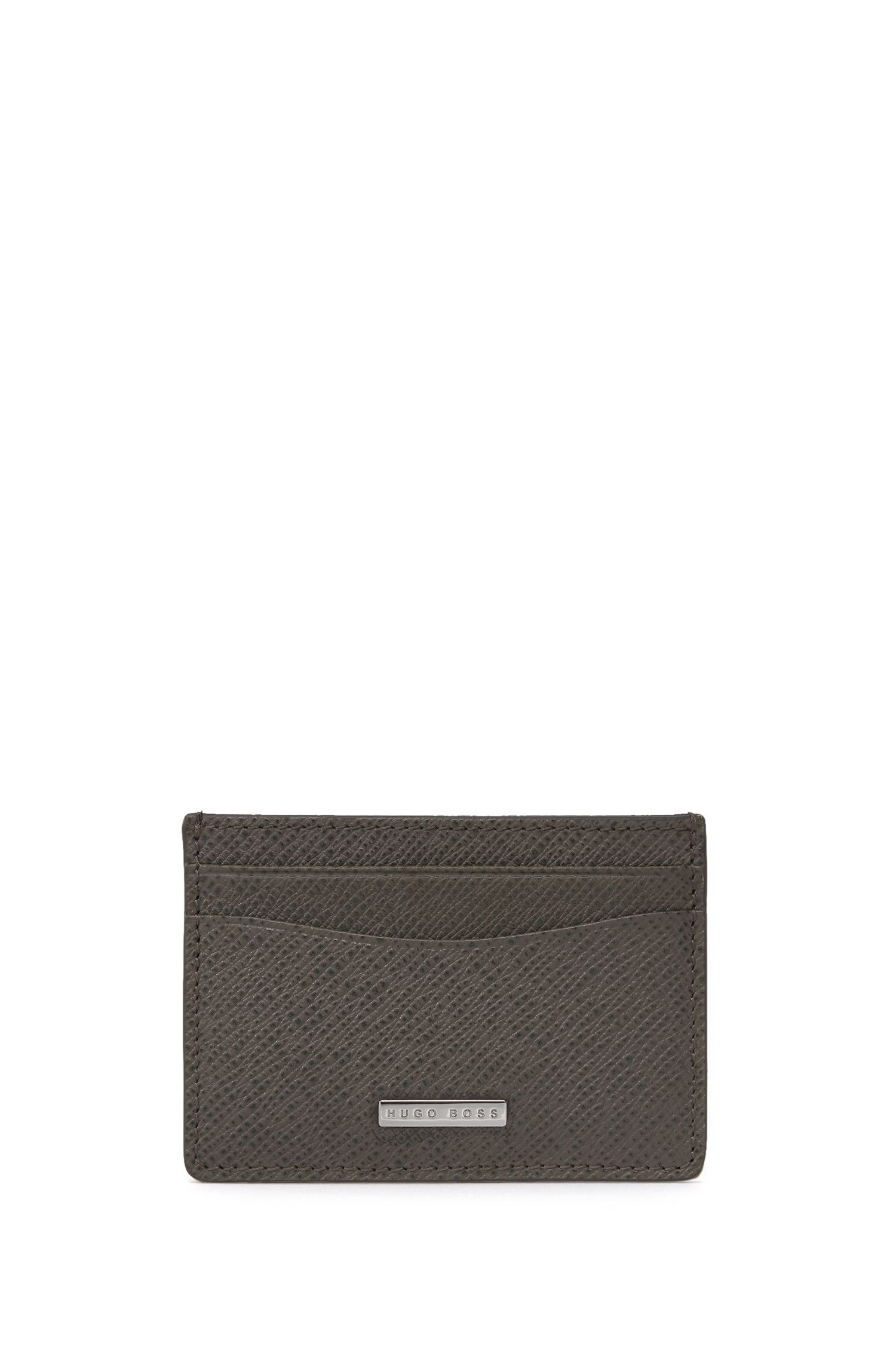 Calfskin Card Case | Signature S Card