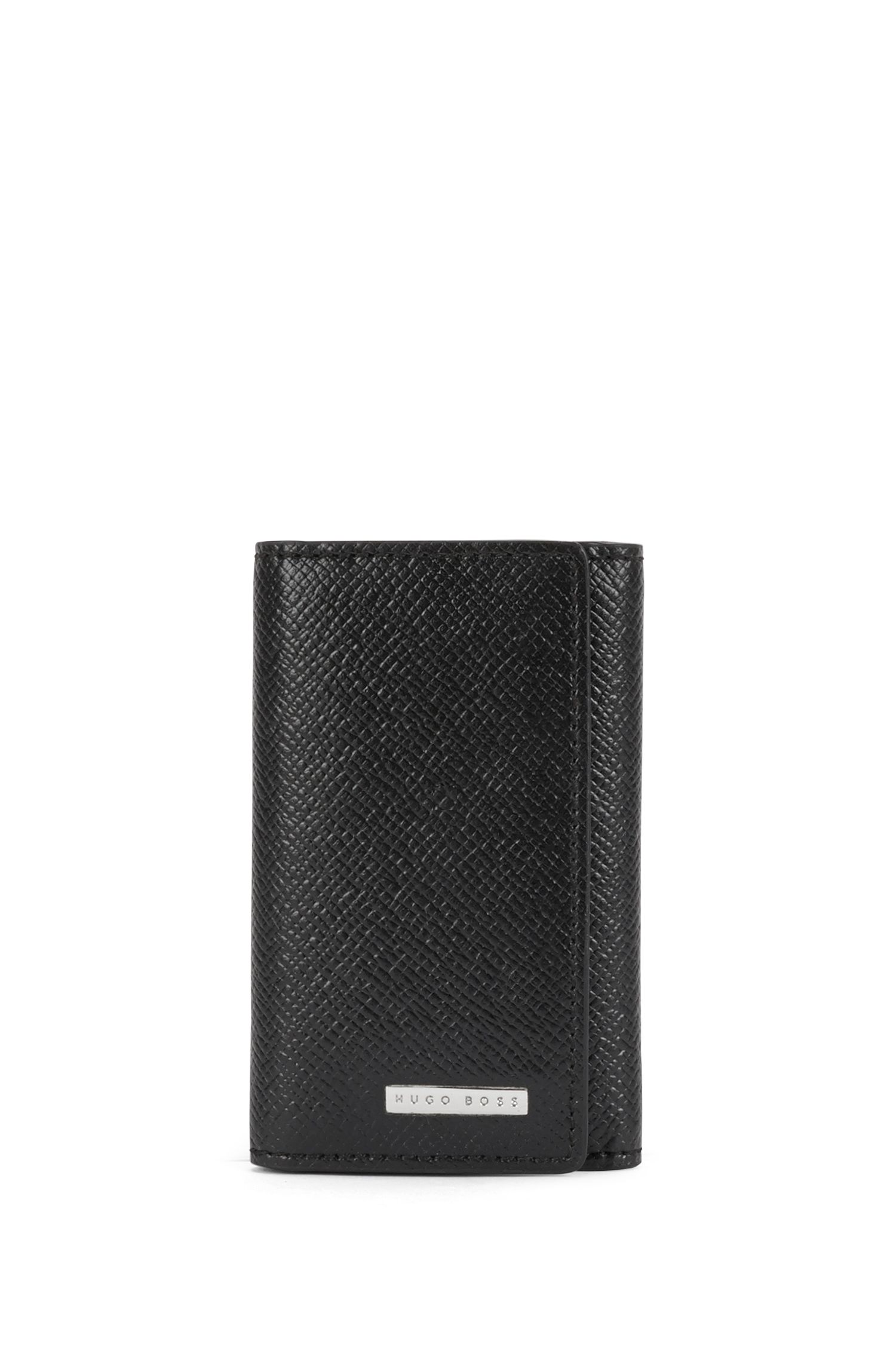 Embossed Leather Key Holder | Signature 7 Keys