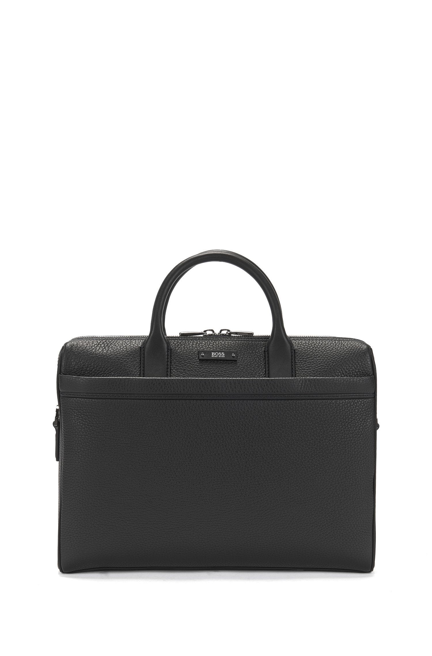 Leather Briefcase | Traveller S Doc, Black