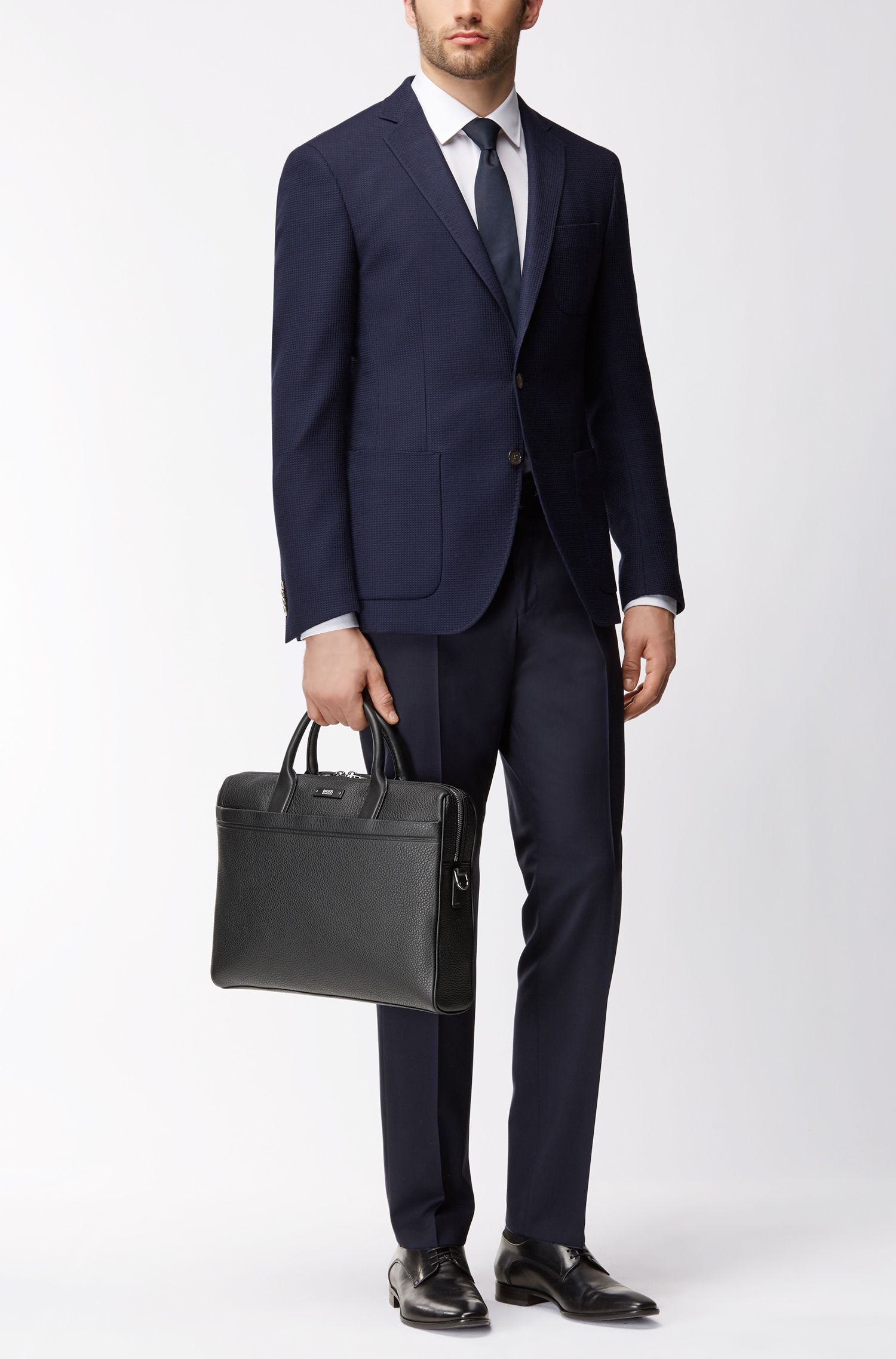 Leather Briefcase | Traveller S Doc