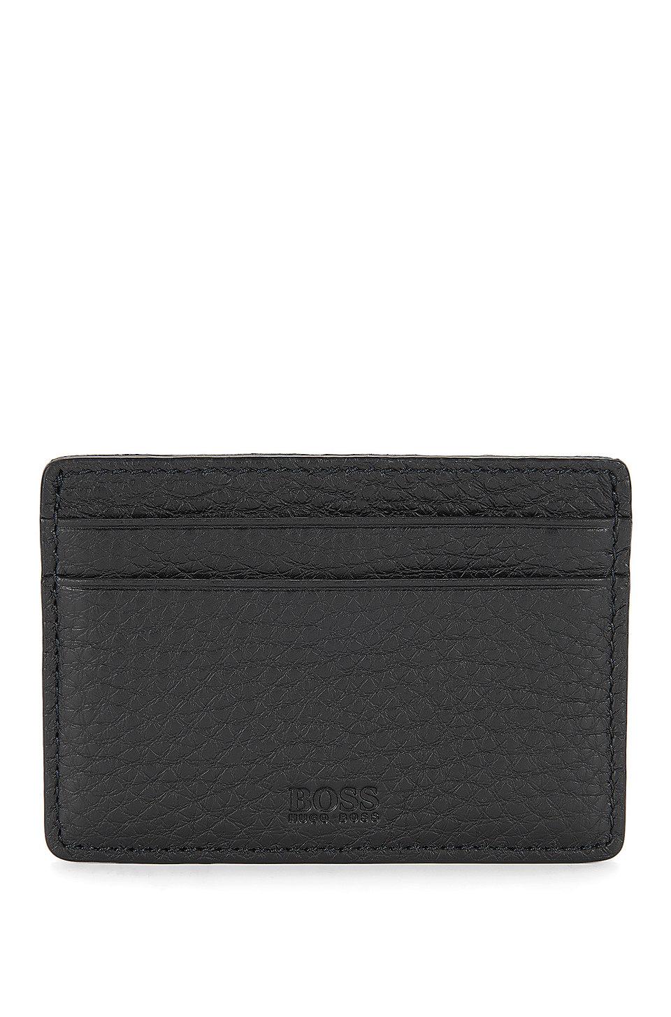 BOSS - Leather Card Holder | Traveller S Card