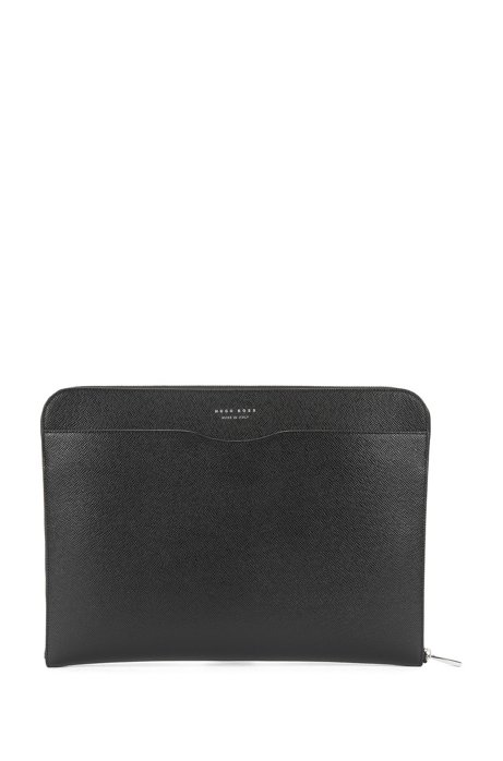 8c3068e6dd BOSS - Italian Calfskin Portfolio Case