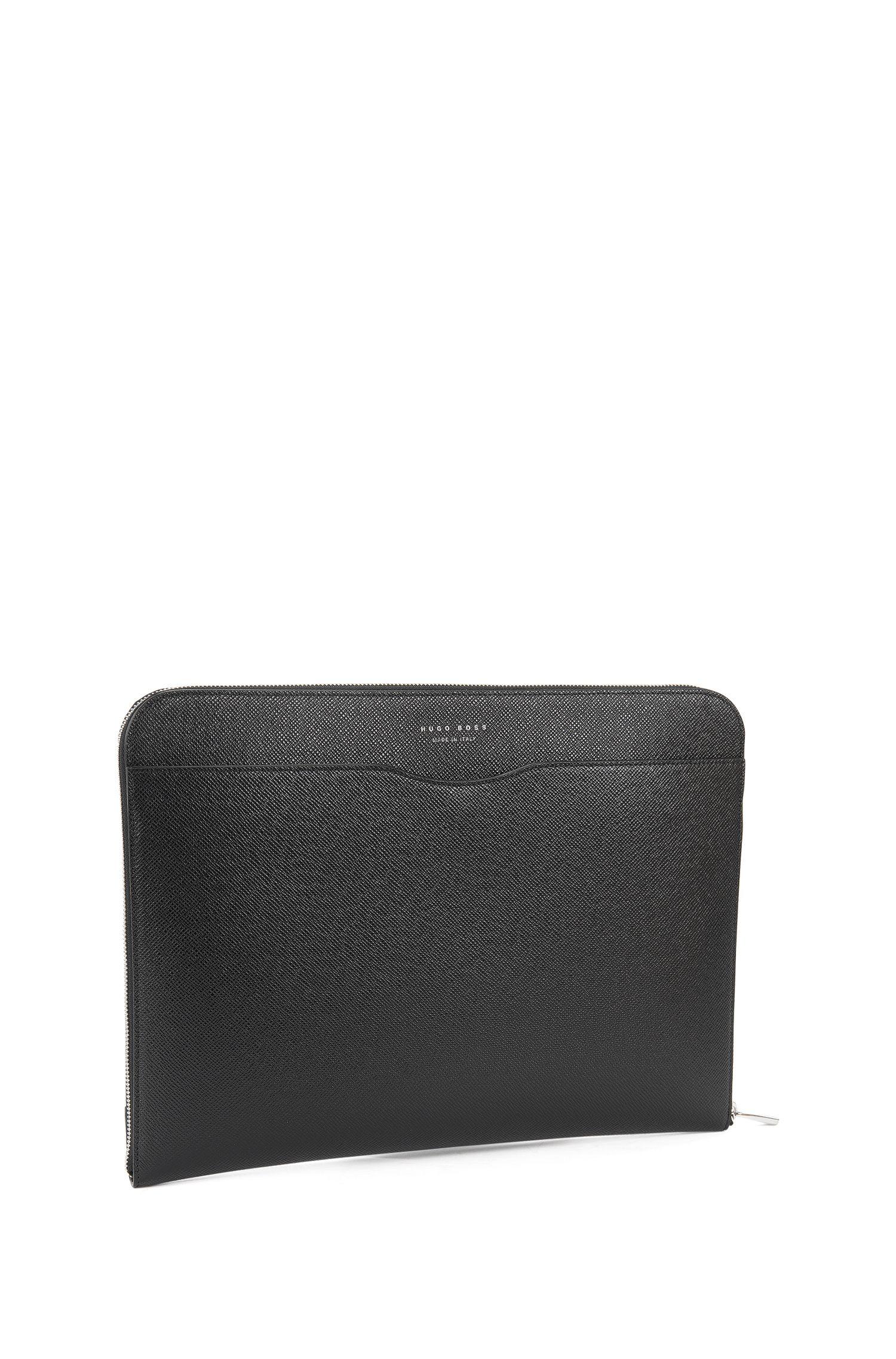 Italian Calfskin Portfolio Case | Signature Portfolio, Black