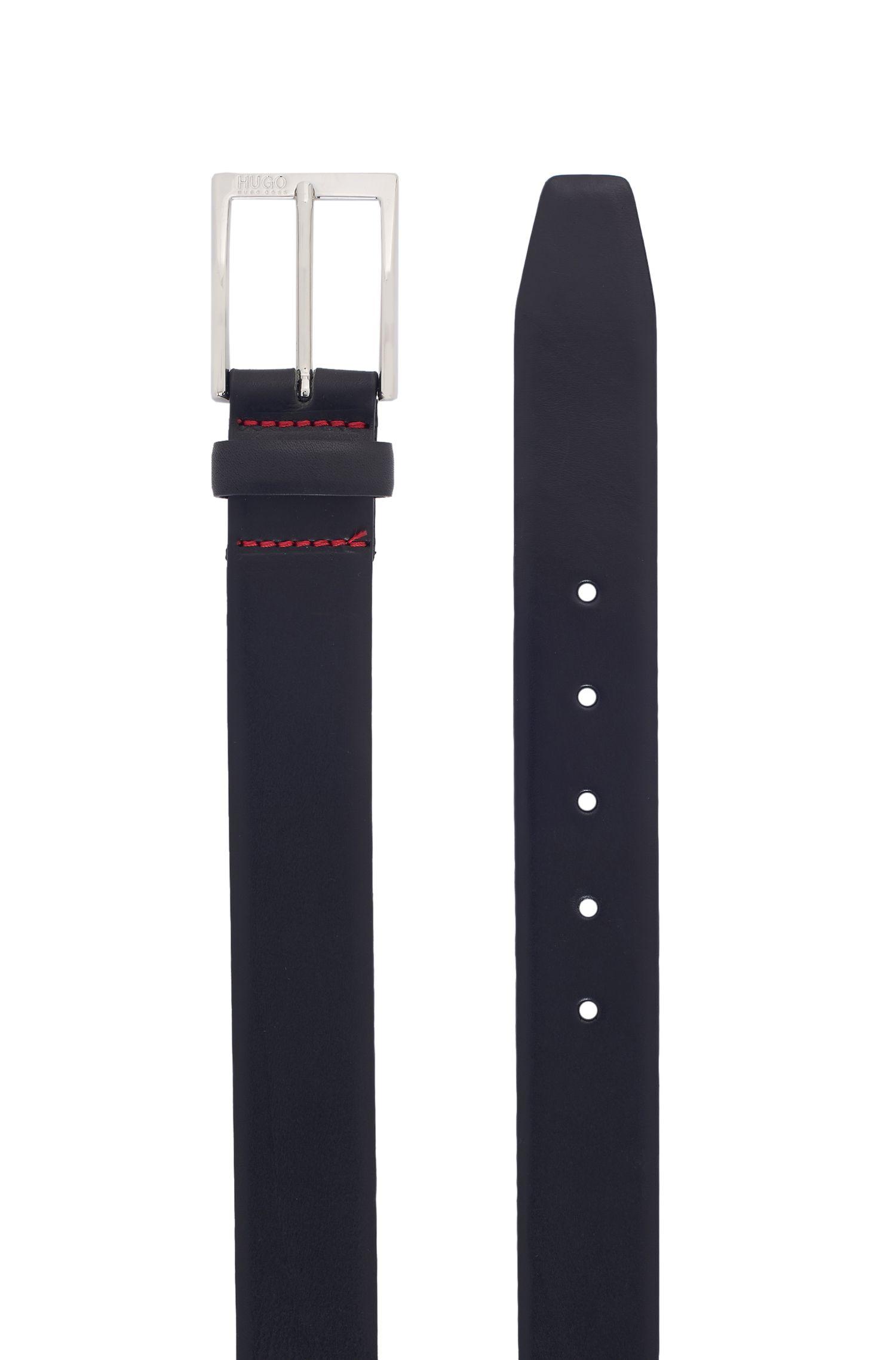 Leather Belt   C-Gerron N, Black