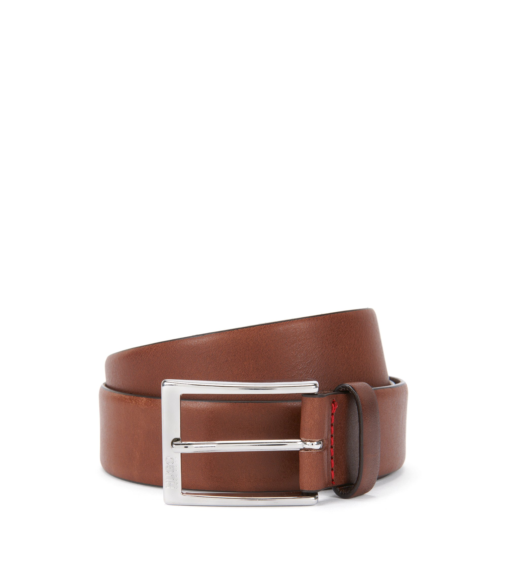 Leather Belt | C-Gerron N, Brown