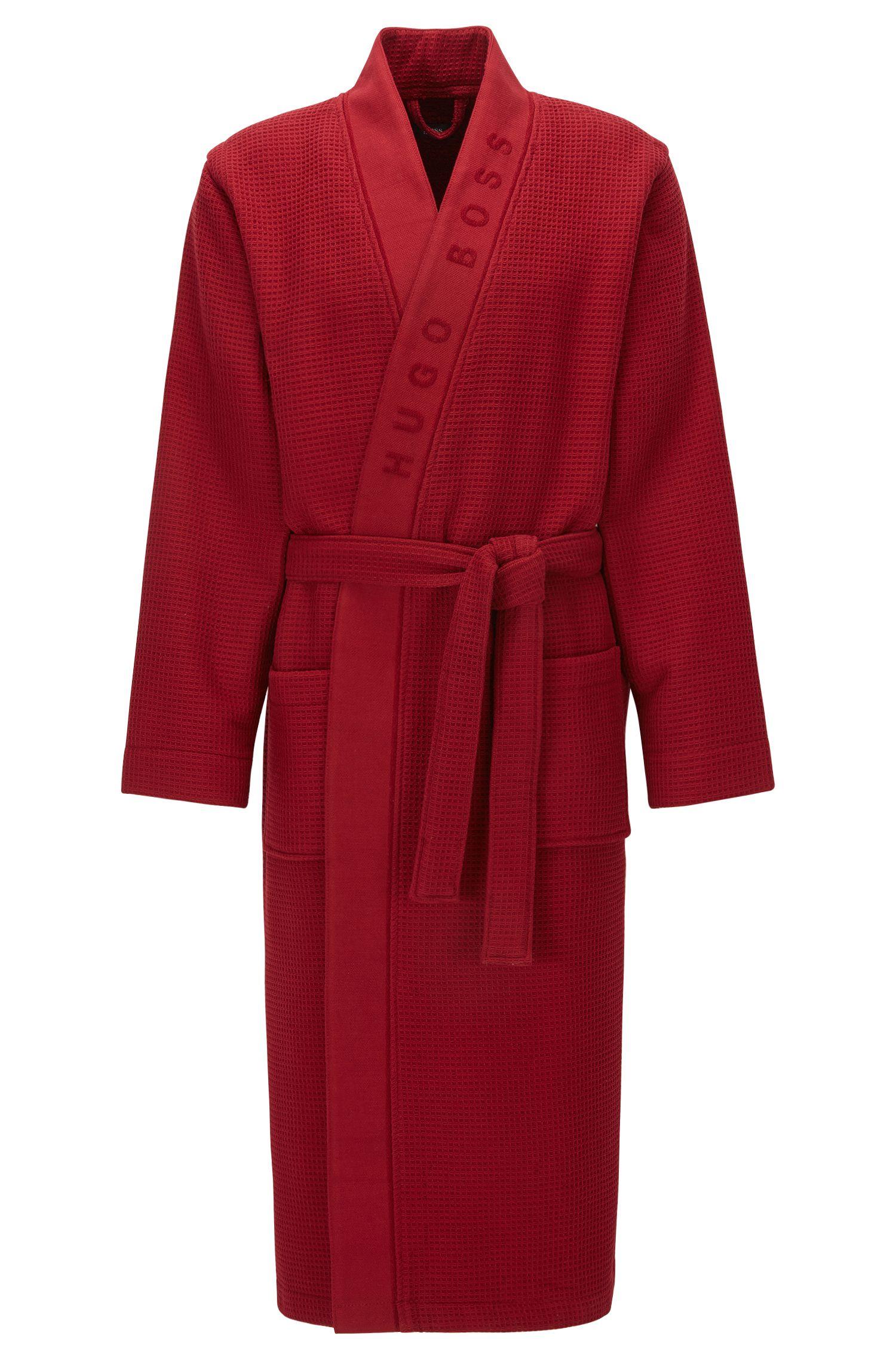 Stretch Cotton Kimono Robe   Kimono