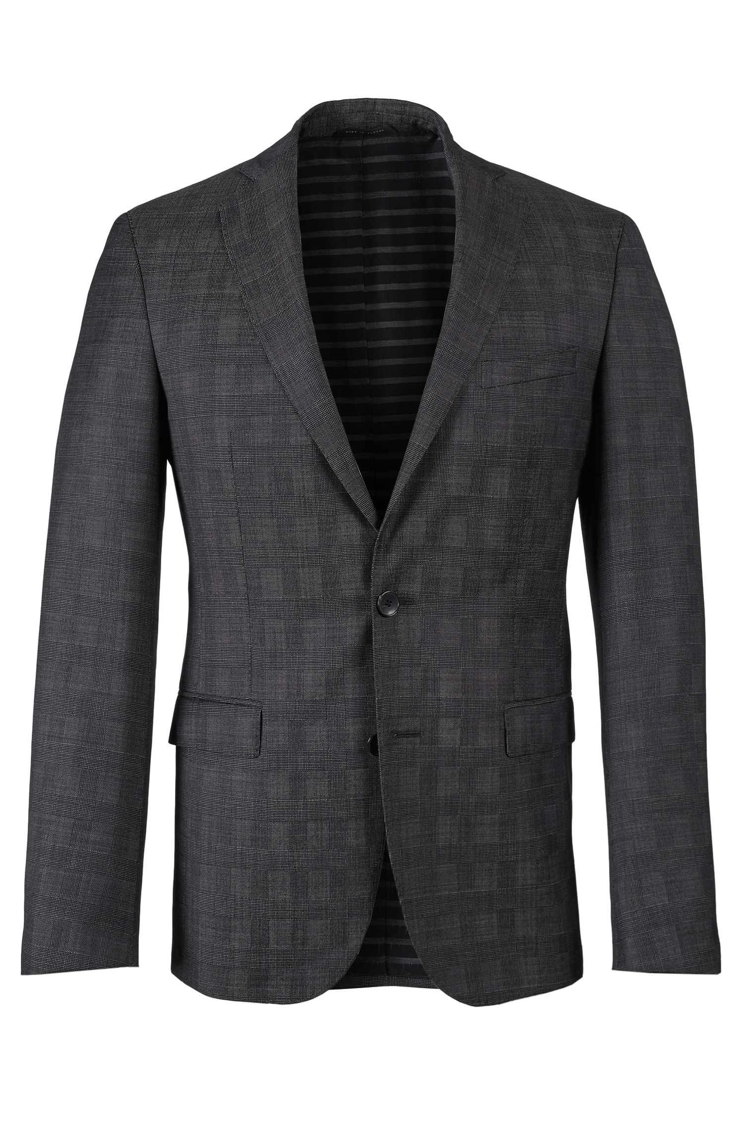 Virgin Wool Sport Coat, Extra Slim Fit   Ross