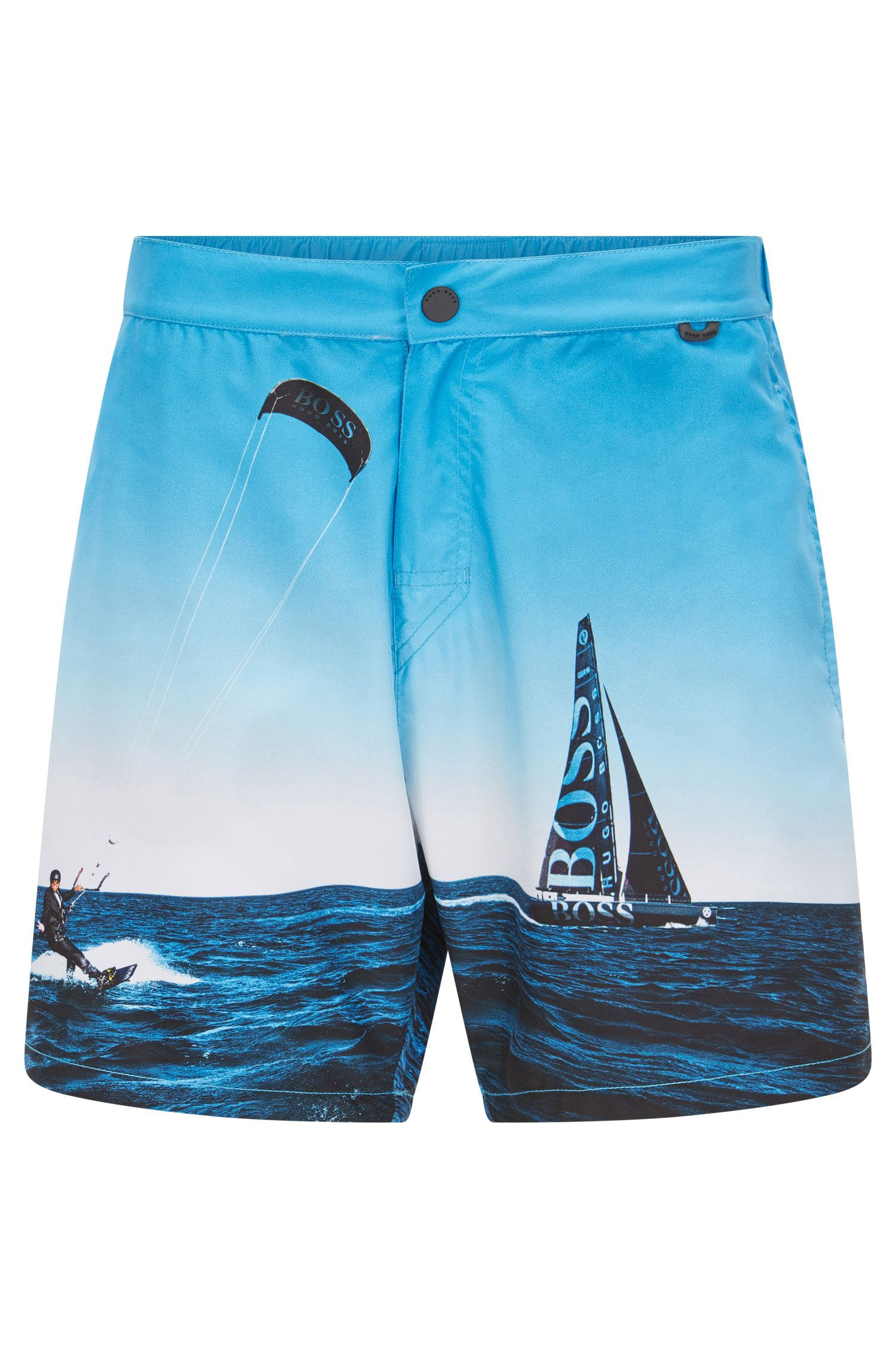 Quick Dry Racing Swim Trunks | Blackfish