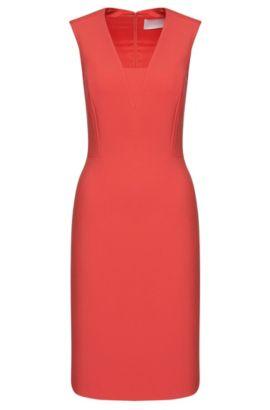 'Dasala' | Stretch Cotton Blend Sheath Dress, Pink