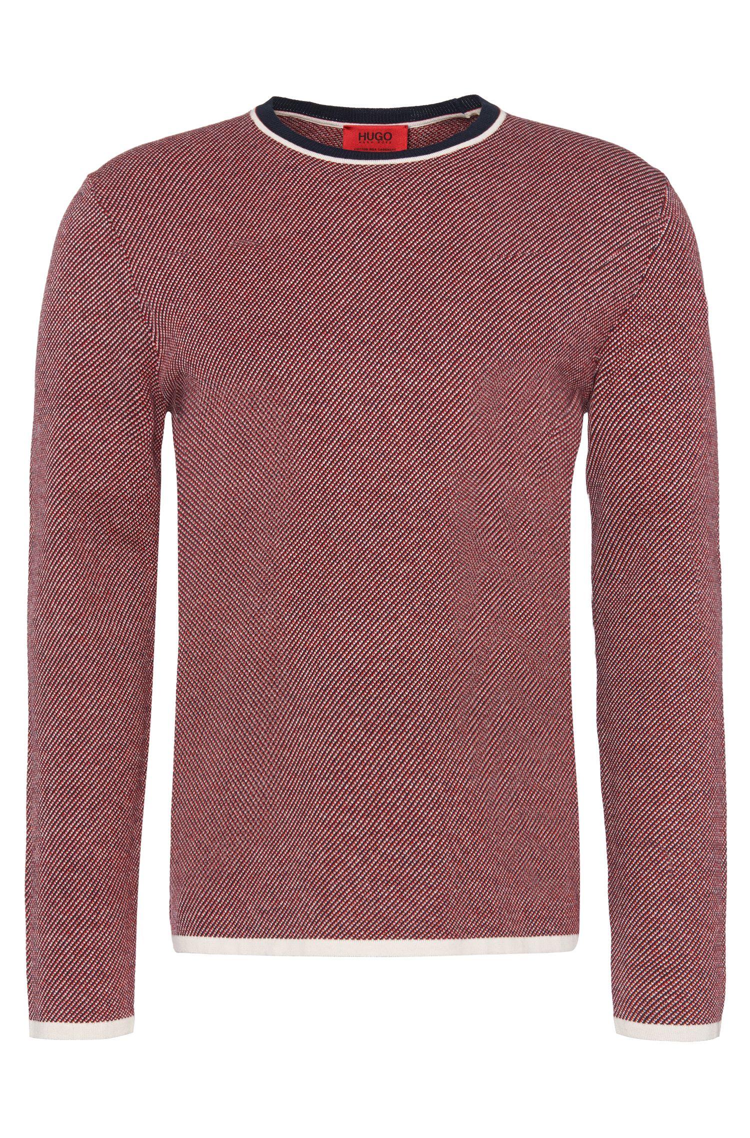 'Stip' | Cotton Silk Cashmere Sweater