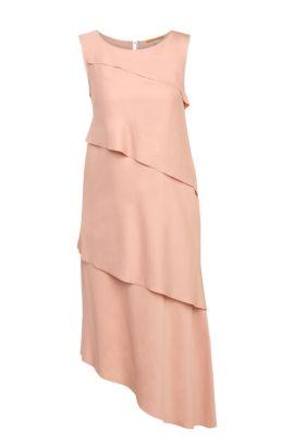 'Asimmy' | Modal Blend Tiered Shift Dress, Pink