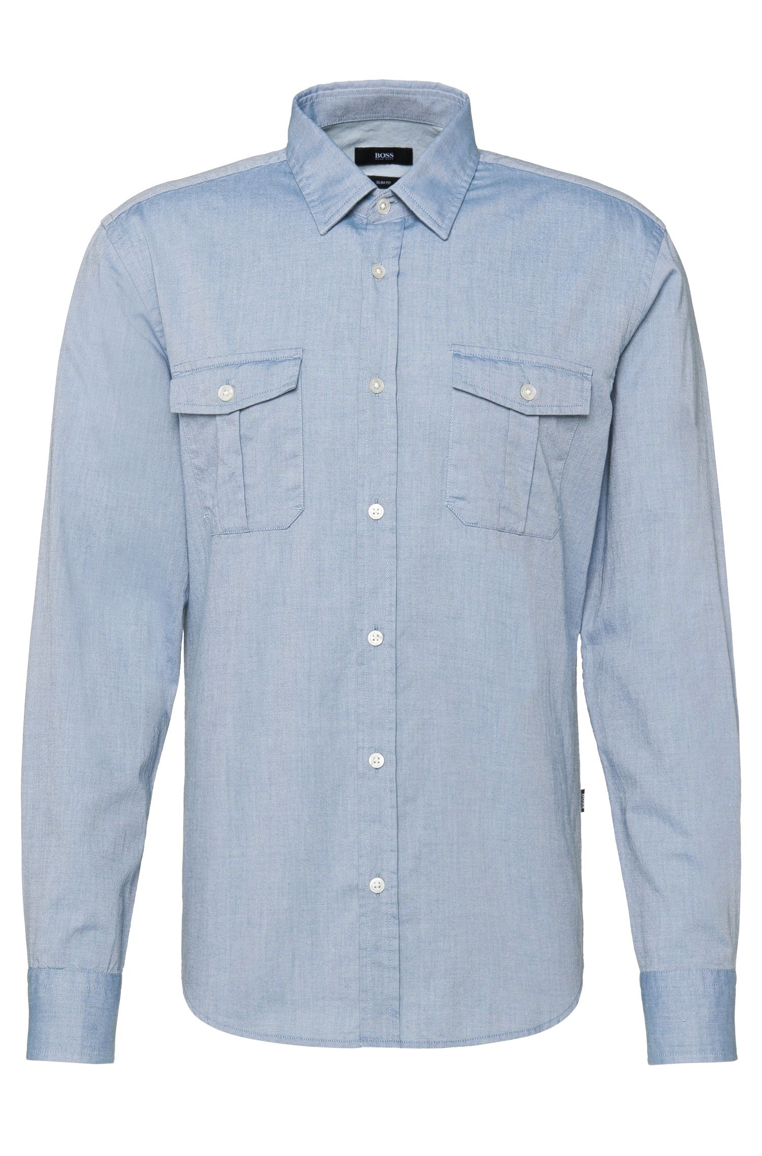 'Ramsey' | Slim Fit, Cotton Button Down Shirt