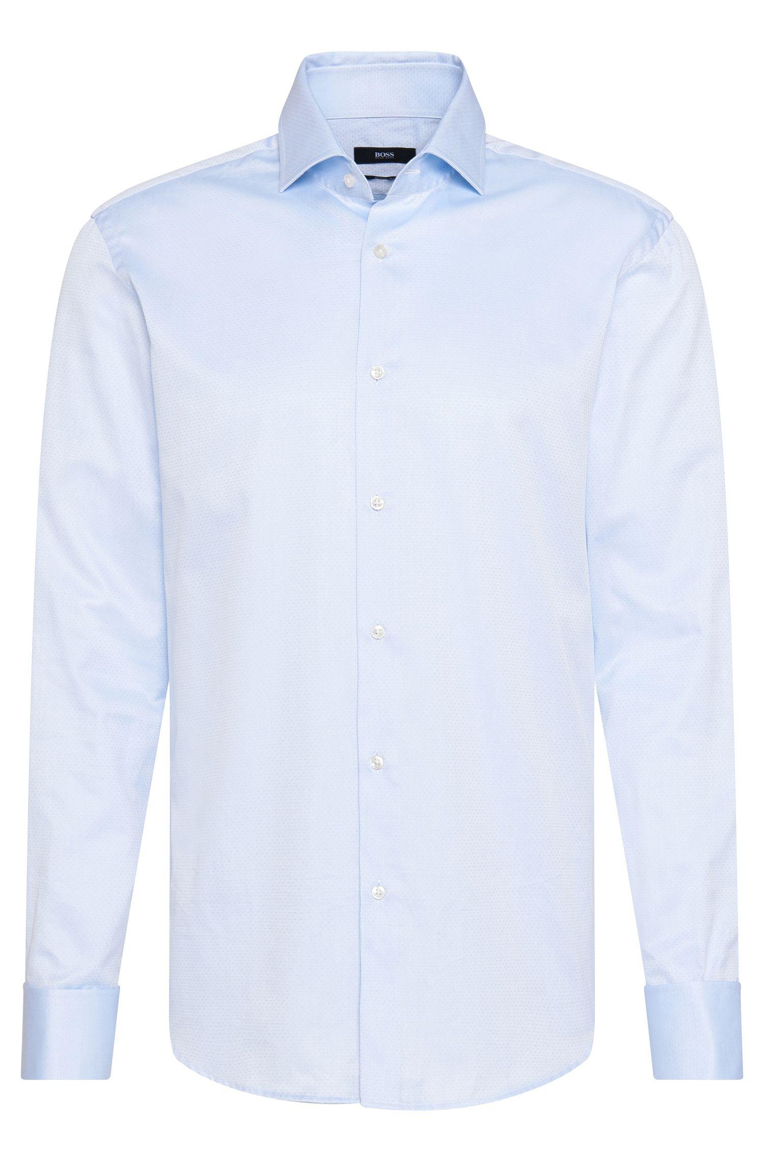 'Gardner' | Regular Fit, Italian Cotton French Cuff Dress Shirt