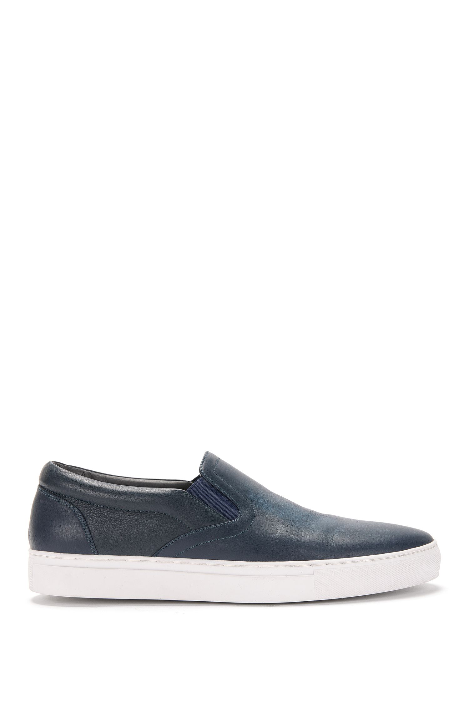 'Timeless Slon Mx' | Calfskin Slip-On Sneakers