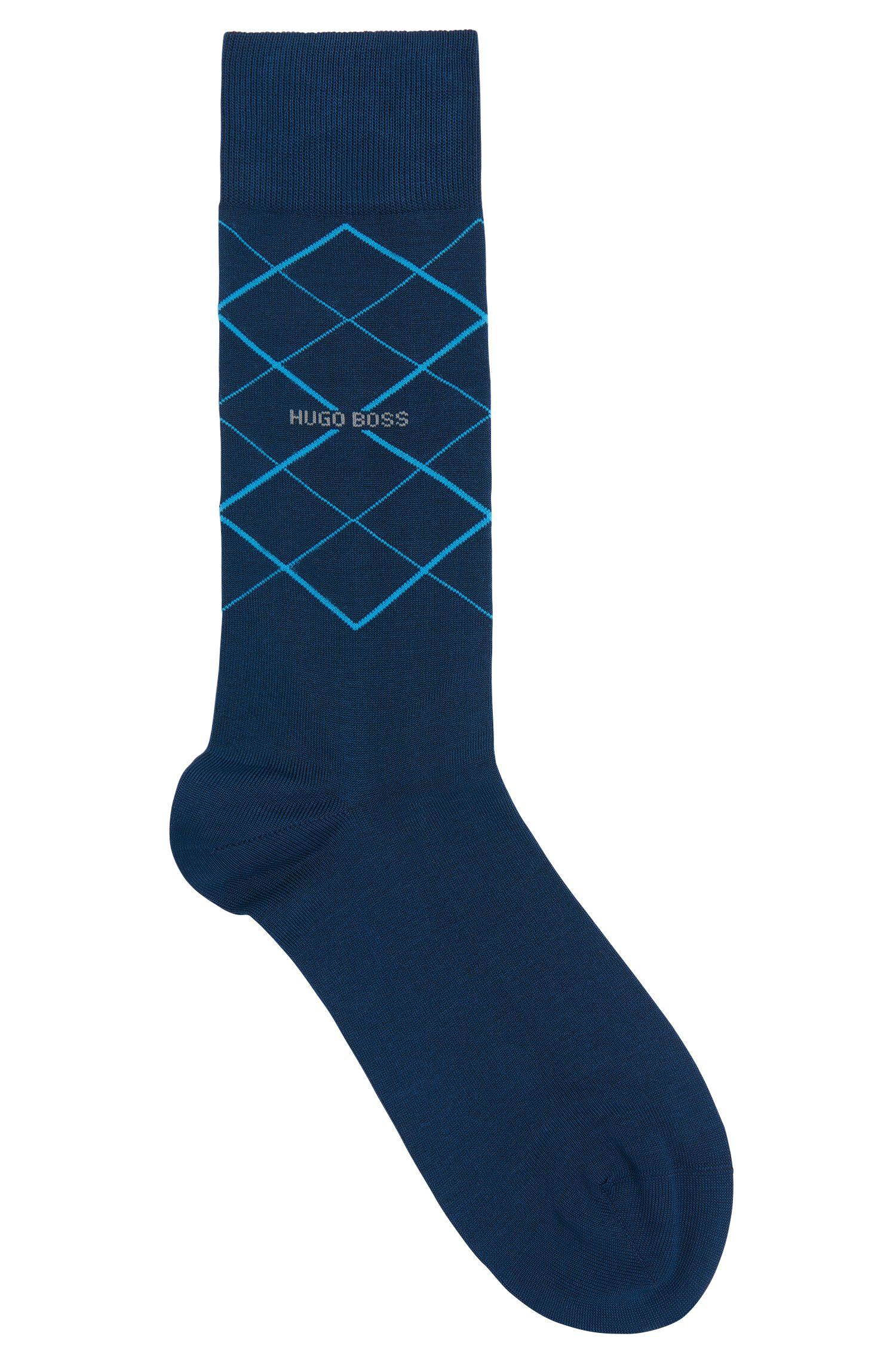 'RS Design US'   Stretch Mercerized Cotton Blend Socks