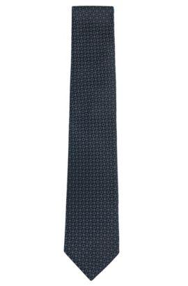 'Tie 7.5 cm' | Regular, Silk Tie, Blue