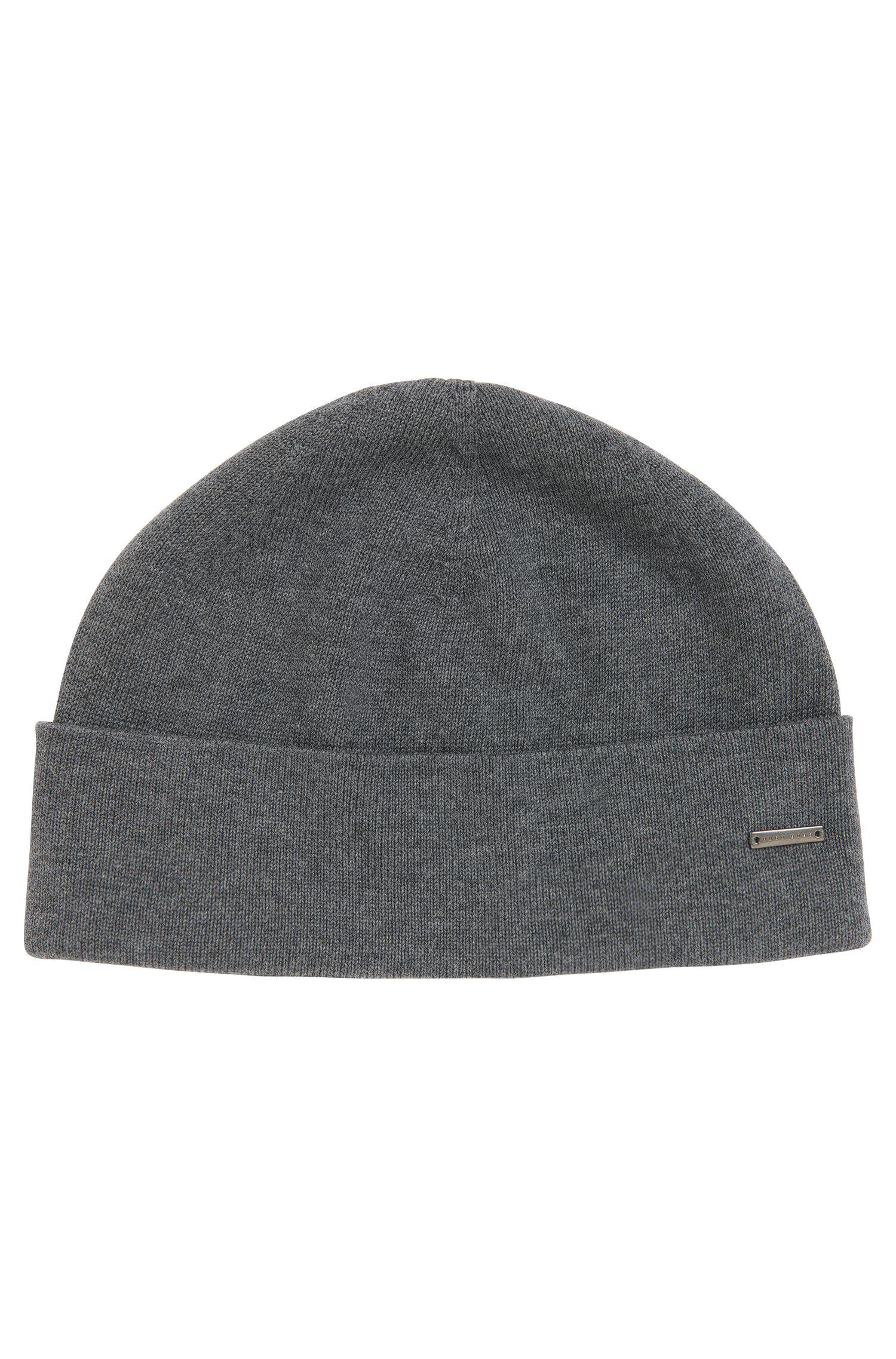 'Hiraldo'   Cotton Knit Beanie Cap