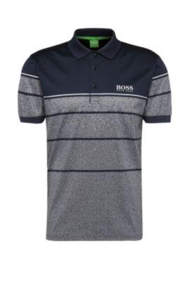 'Paddy Pro'   Modern Fit, Moisture Manager Polo Shirt, Dark Blue