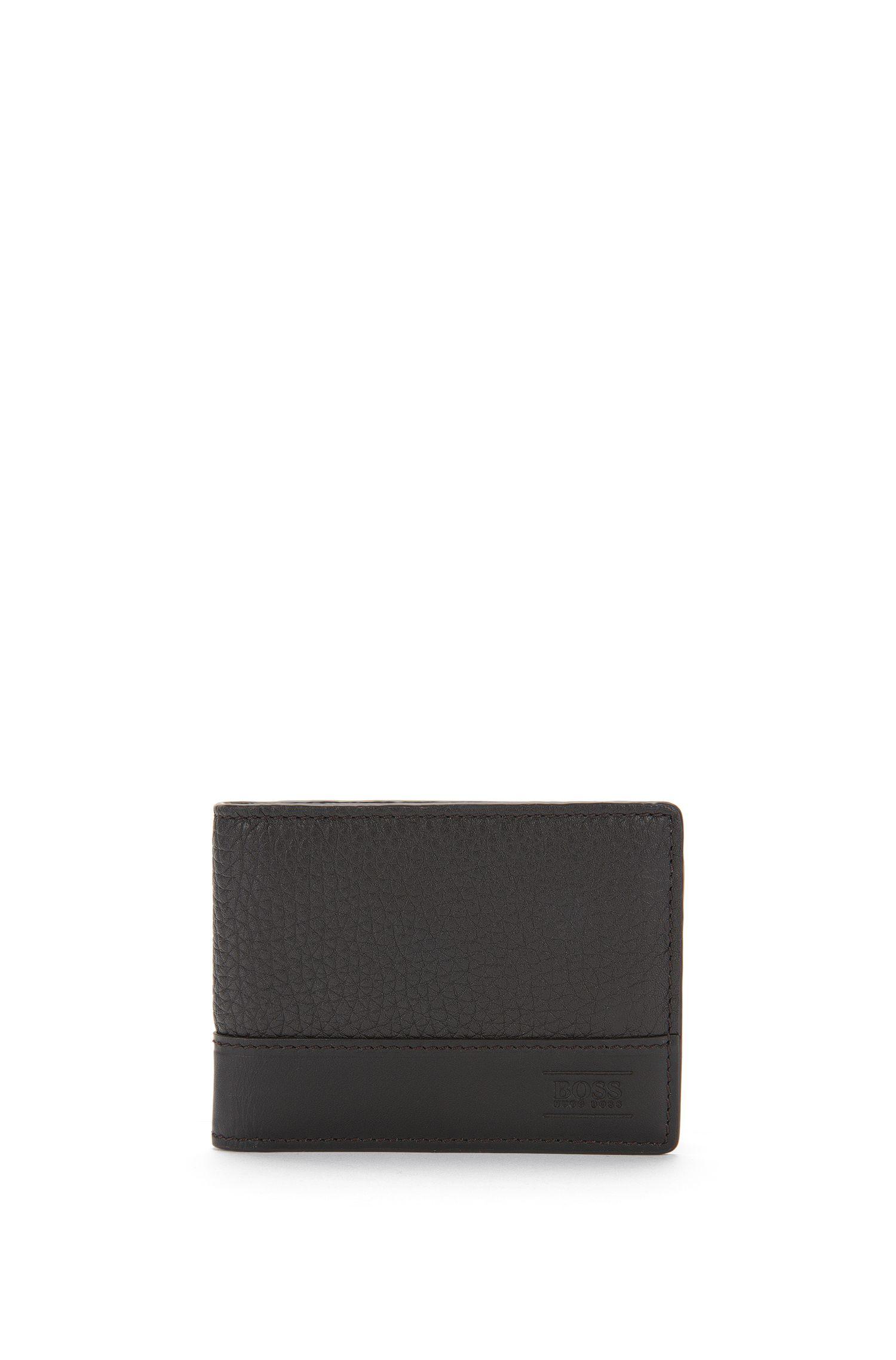 'Aspen 6 CC' | Textured Leather Wallet