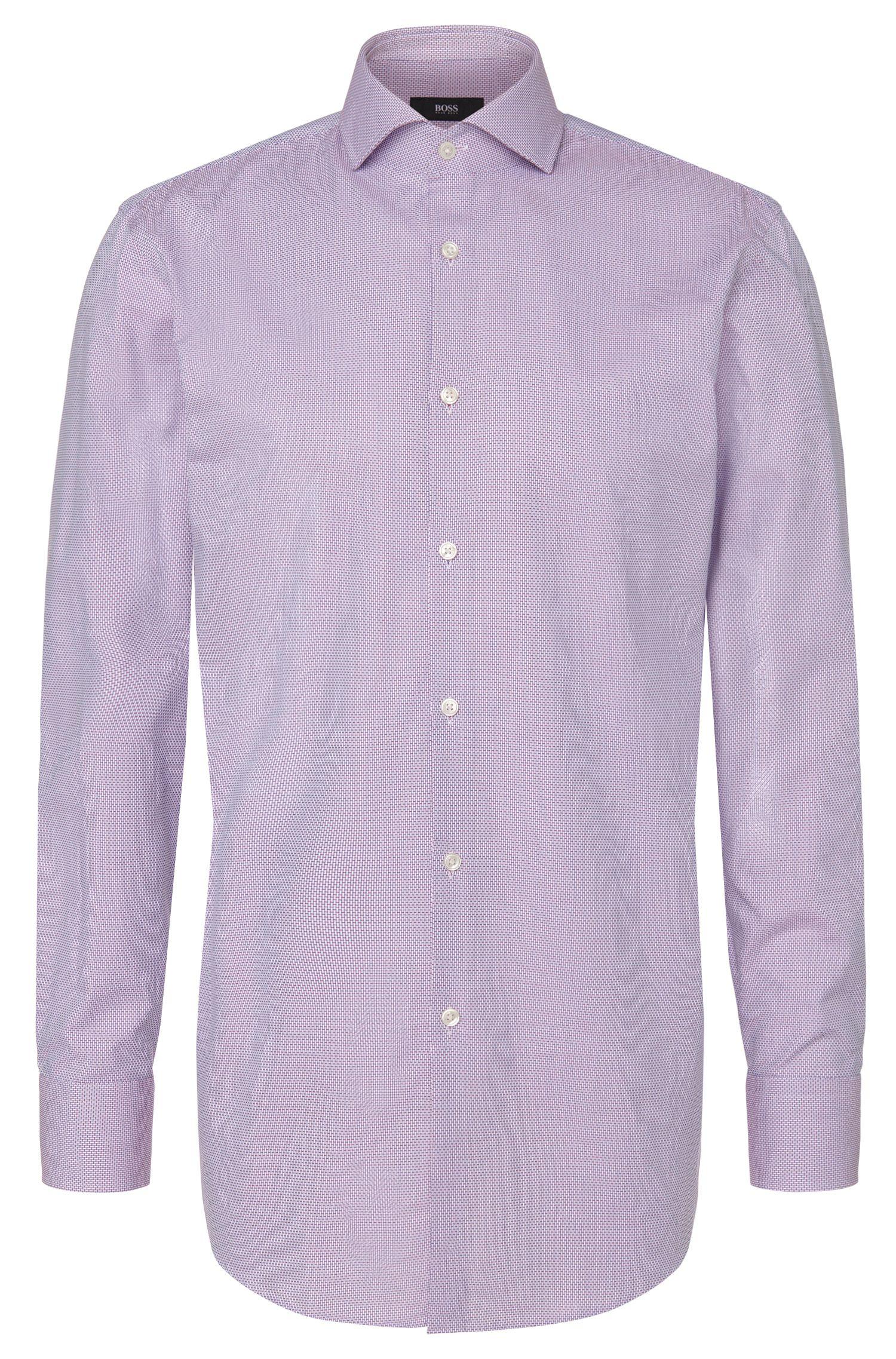 'Mark US' | Sharp Fit, Cotton Patterned Dress Shirt
