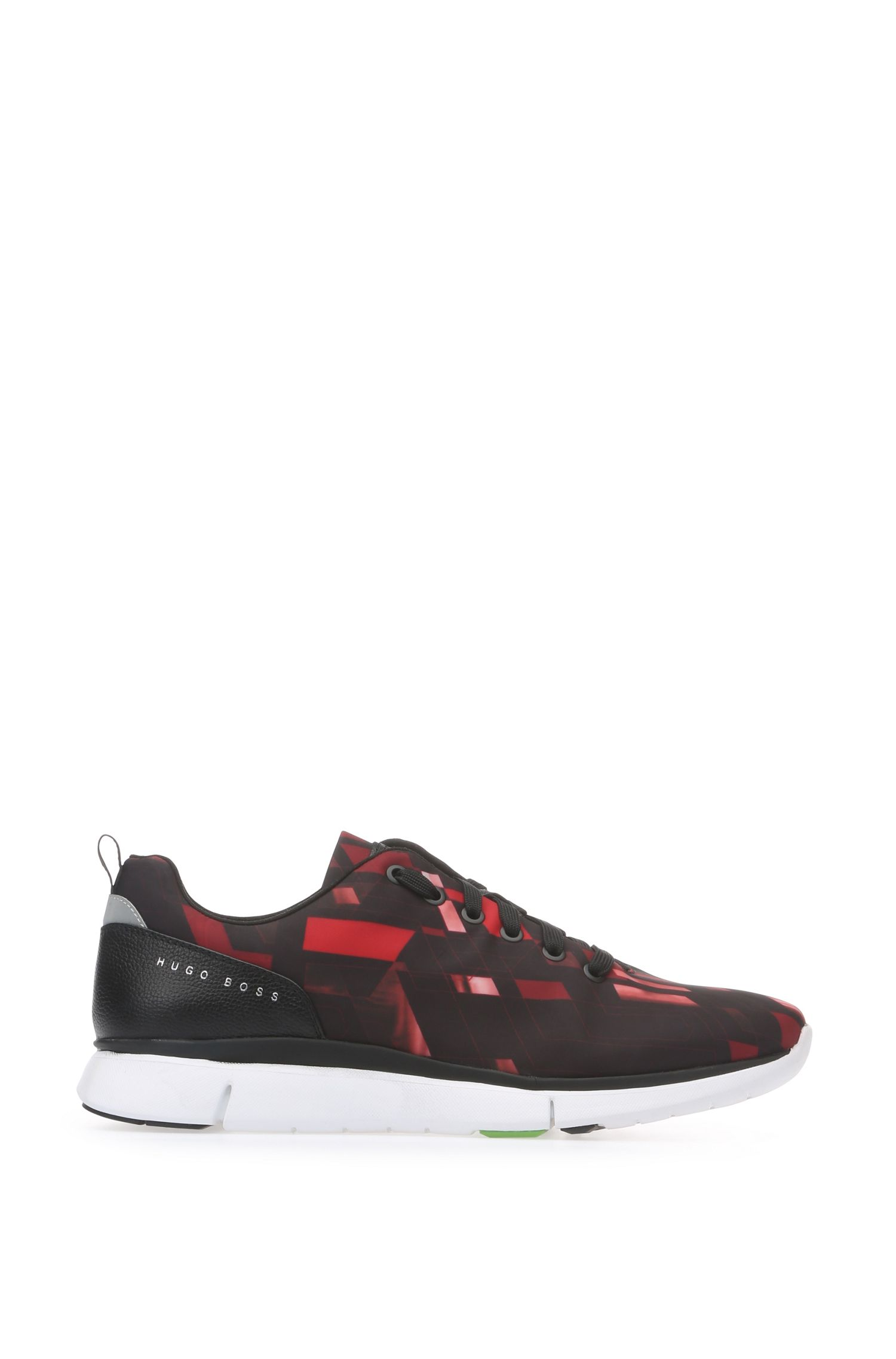 'Gym Runn Nypr' | Printed Upper Sneakers