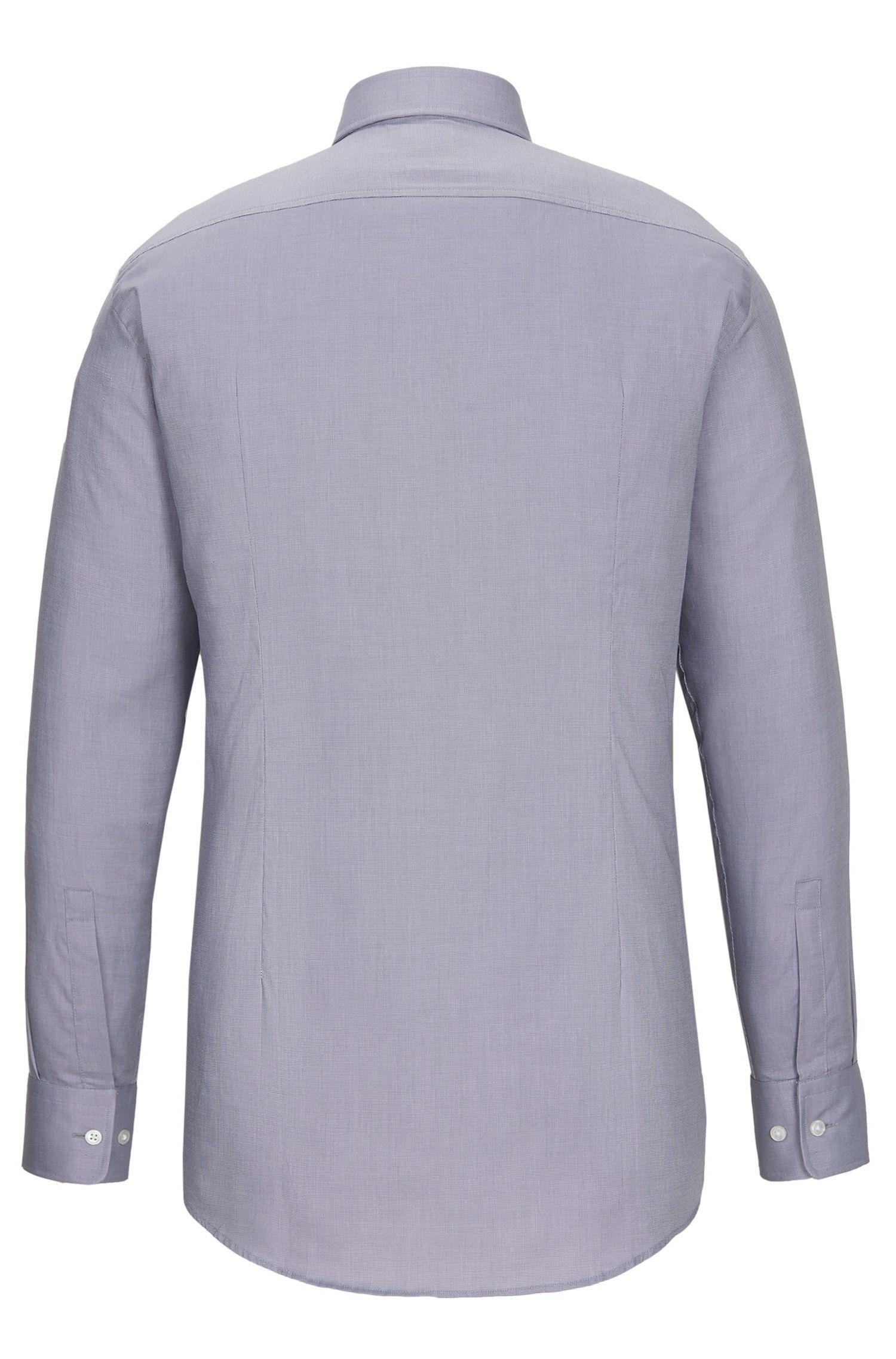 Nailhead Cotton Dress Shirt, Sharp Fit| Marley US