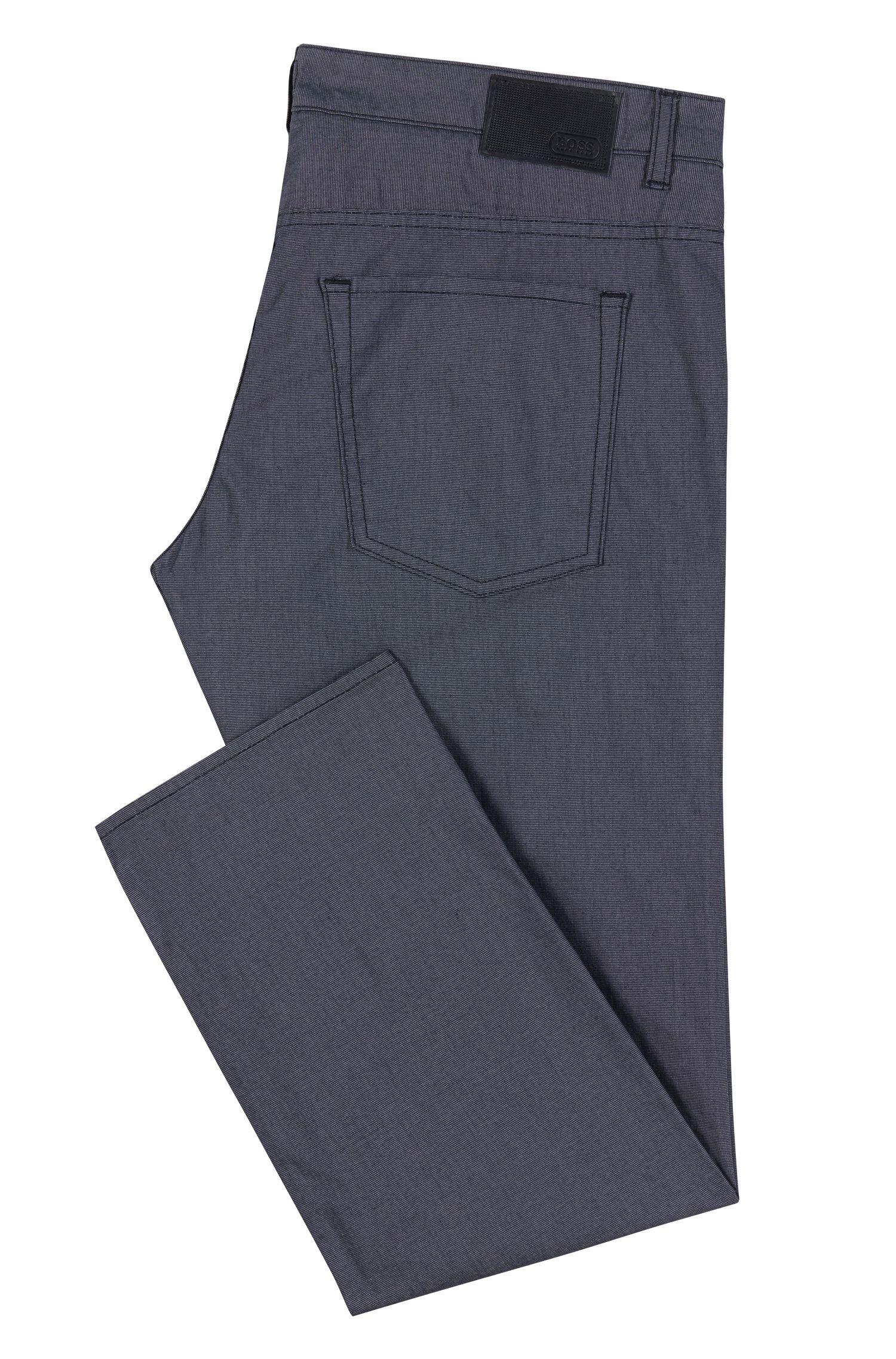Stretch Cotton Jean, Slim FIt | C-Delaware, Dark Blue