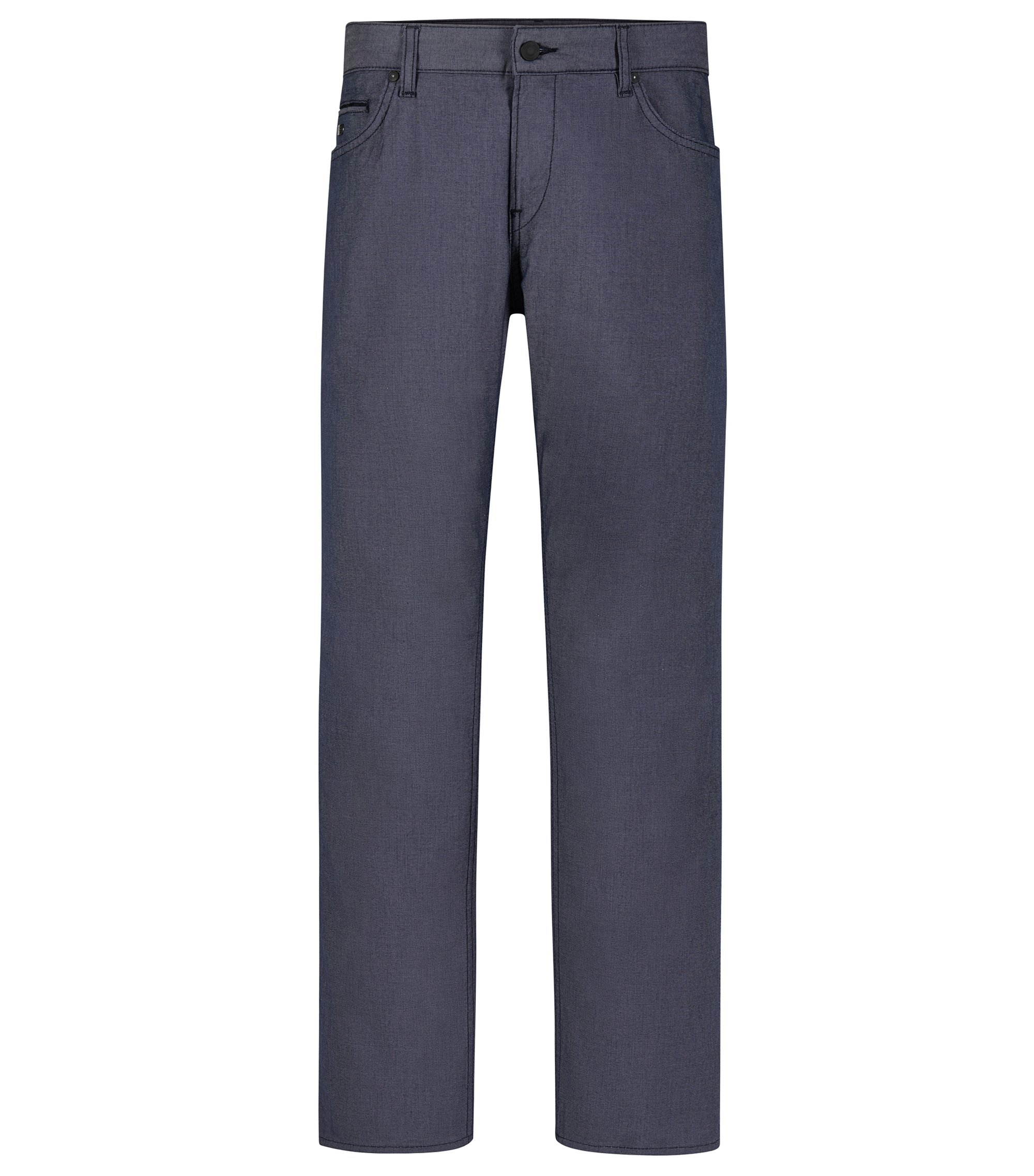 Stretch Cotton Jean, Slim FIt | C-Delaware, Dark Blue