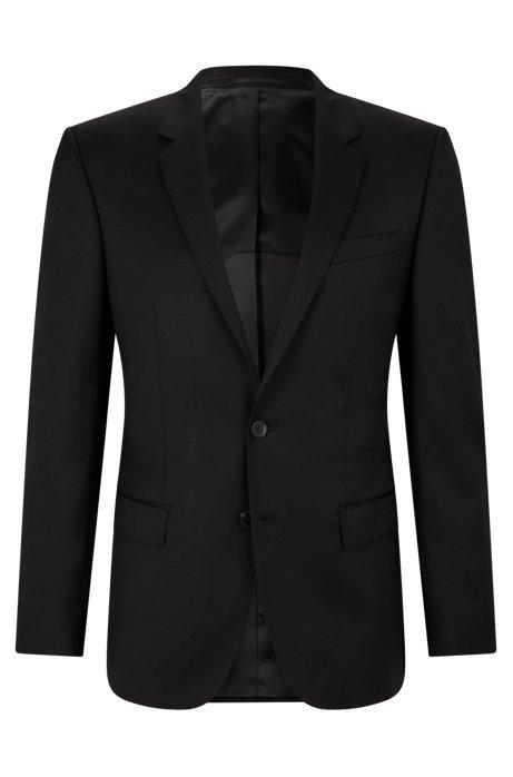 61fa7eb531c2 BOSS - Slim-fit jacket in virgin wool