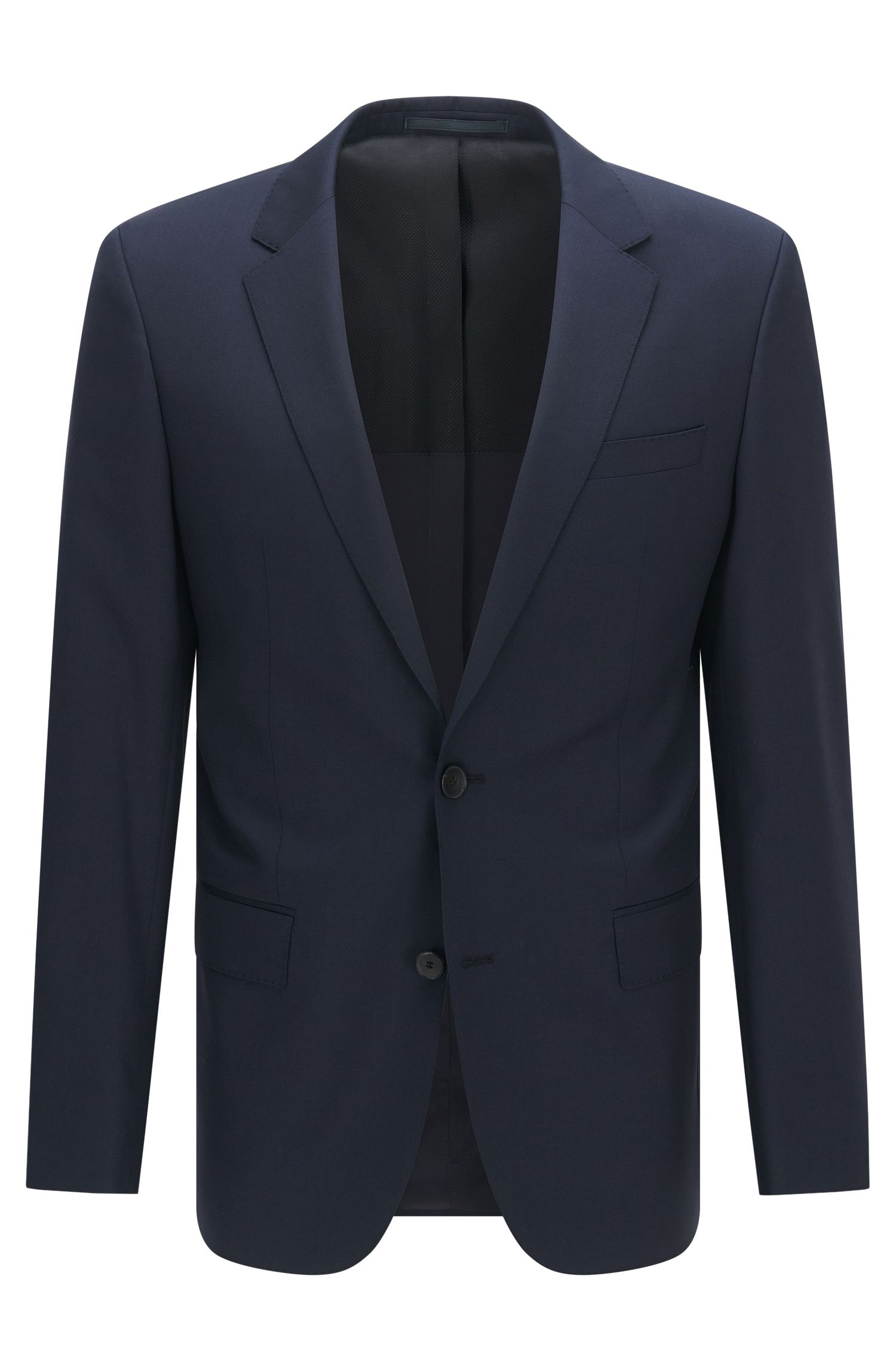 Italian Super 120 Virgin Wool Sport Coat, Slim Fit | Hayes CYL