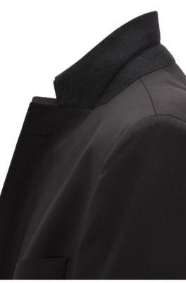 e5a0a7ba2 BOSS - Regular-fit virgin wool jacket with AMF stitching