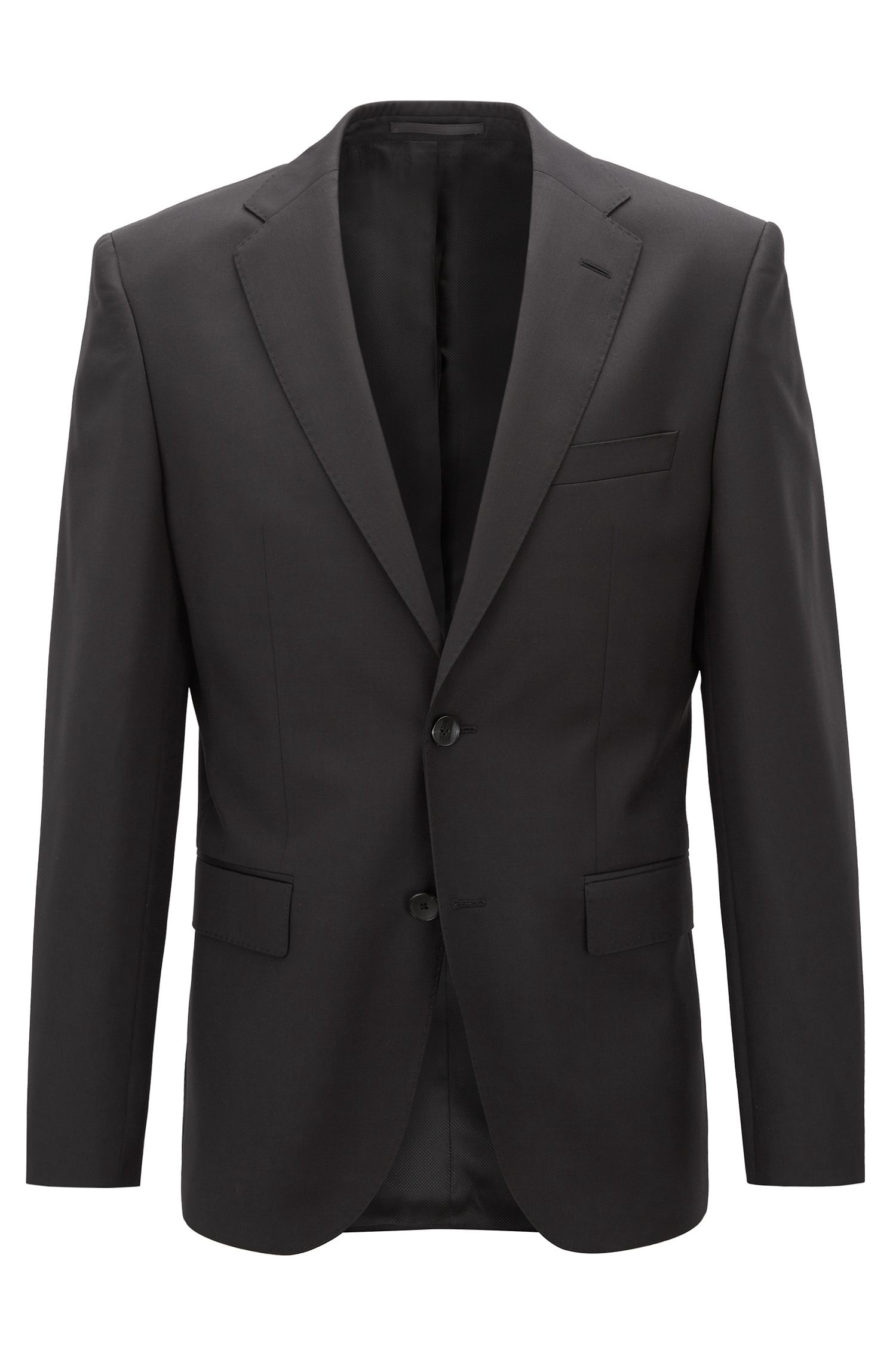 Italian Virgin Wool Sport Coat, Regular Fit | Johnstons CYL