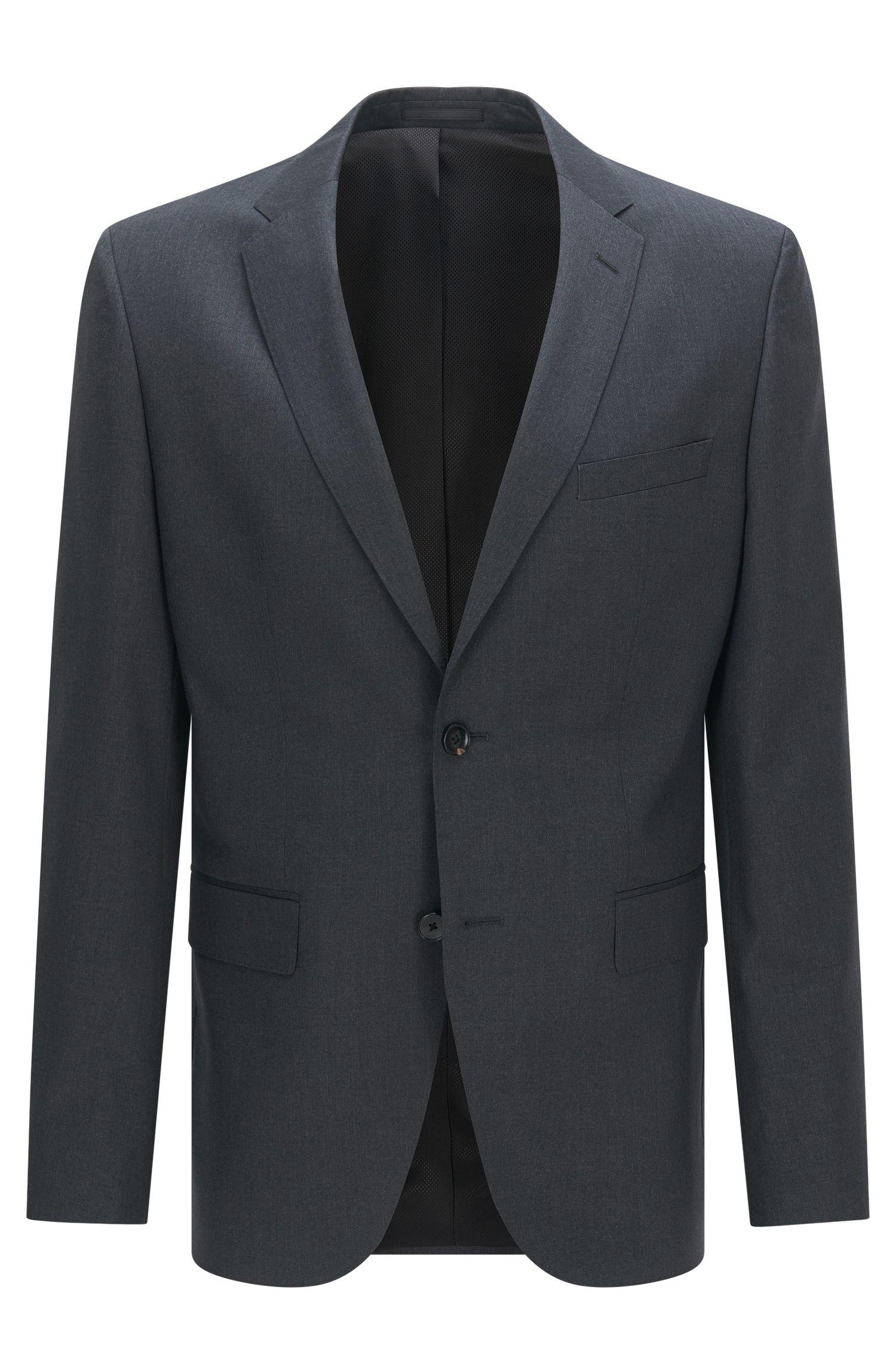 Italian Super 120 Virgin Wool Sport Coat, Regular Fit | Johnstons CYL