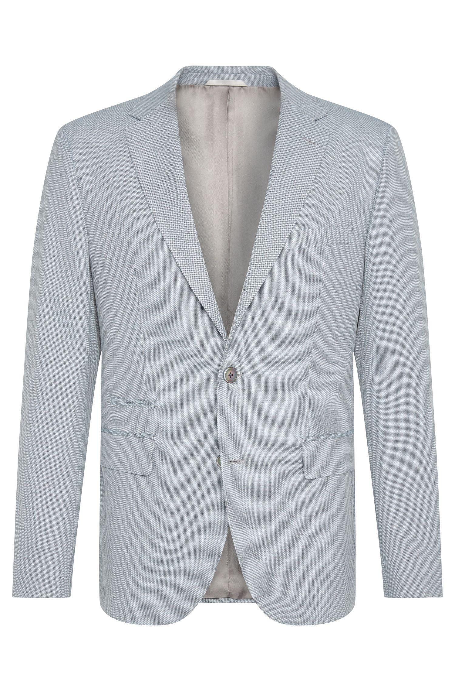 'Johnston' | Regular Fit, Italian Virgin Wool Sport Coat