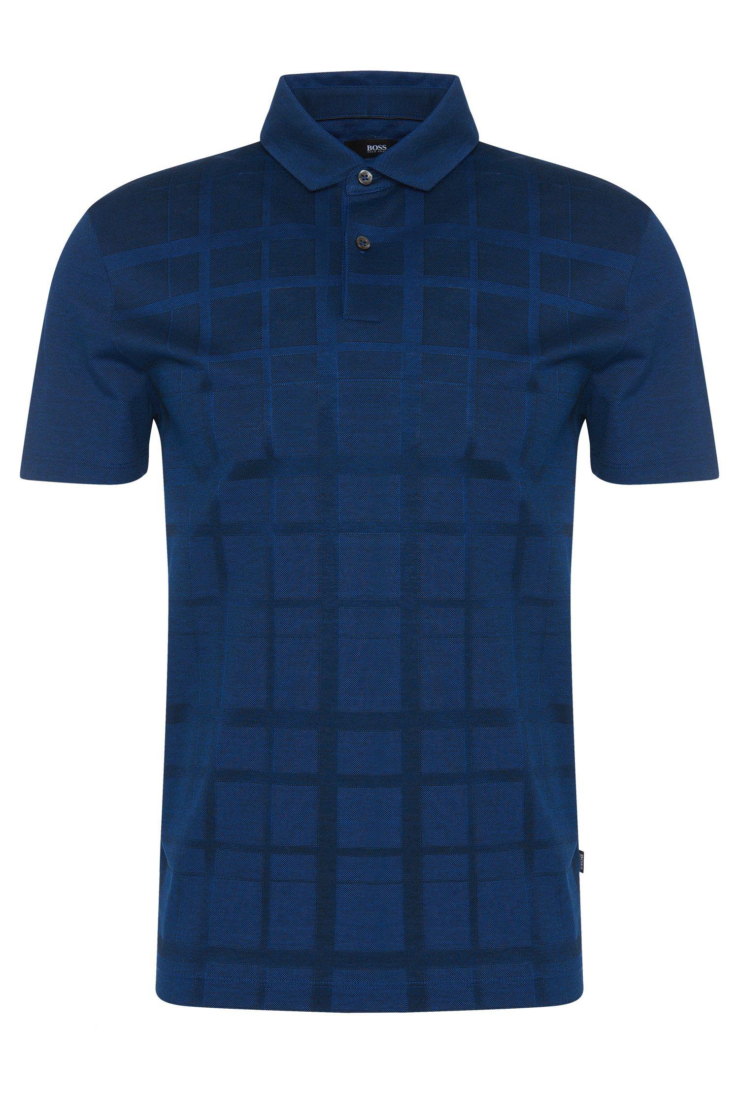 'Press' | Regular Fit, Mercerized Cotton Polo Shirt