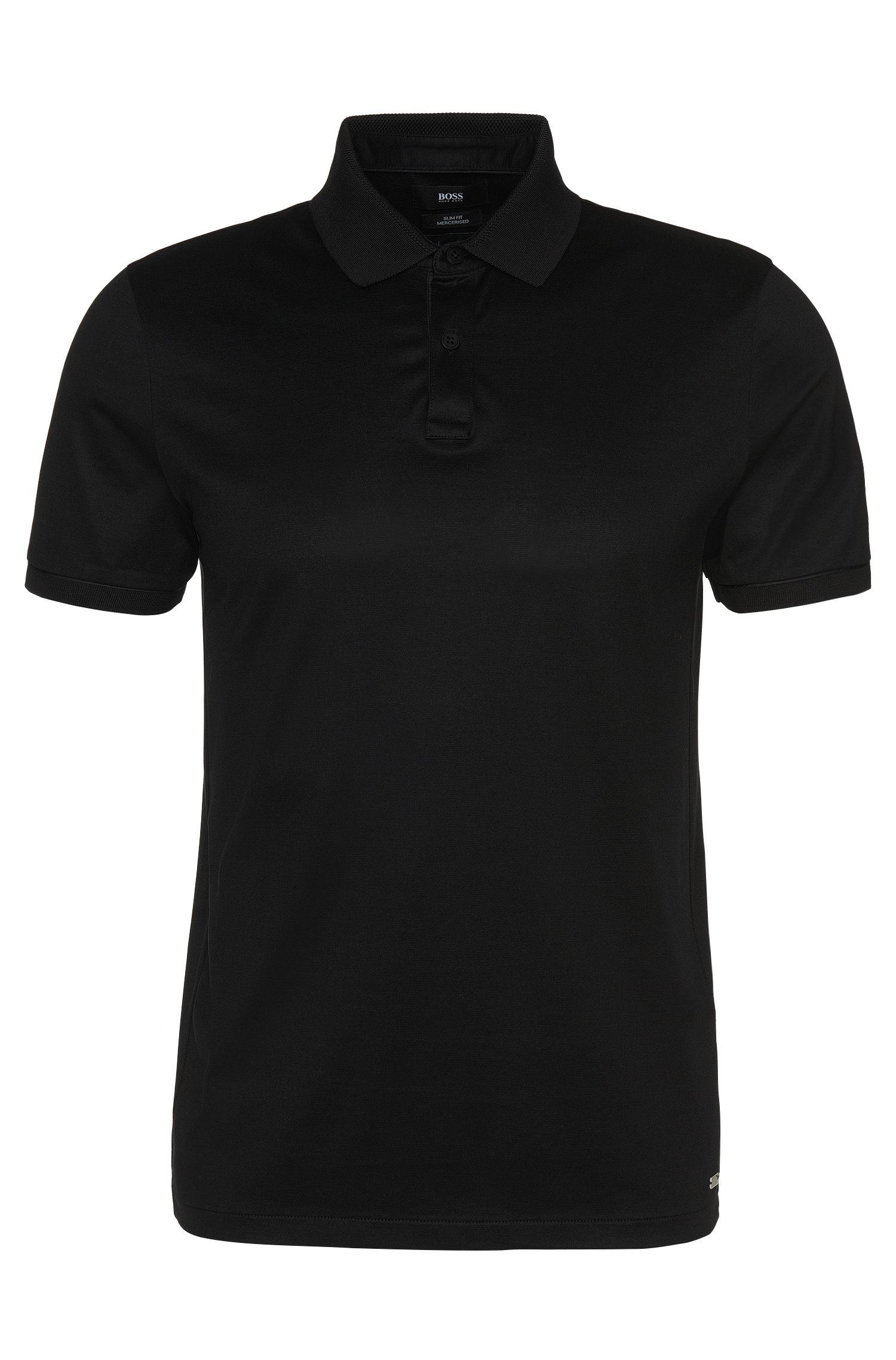 'Penrose' | Slim Fit, Mercerized Stretch Cotton Polo