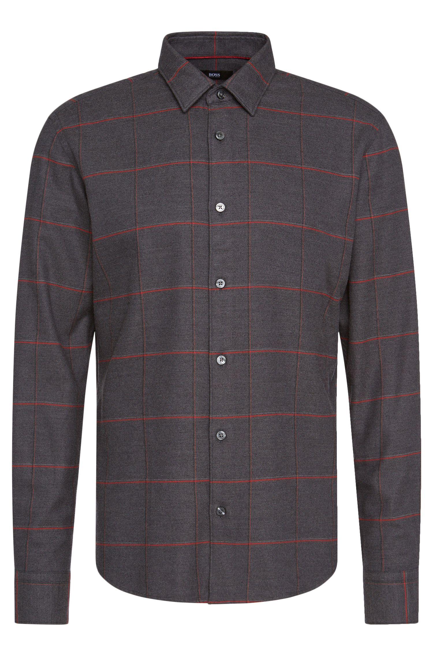 'Reid F'   Slim Fit, Cotton Lyocell Button Down Shirt