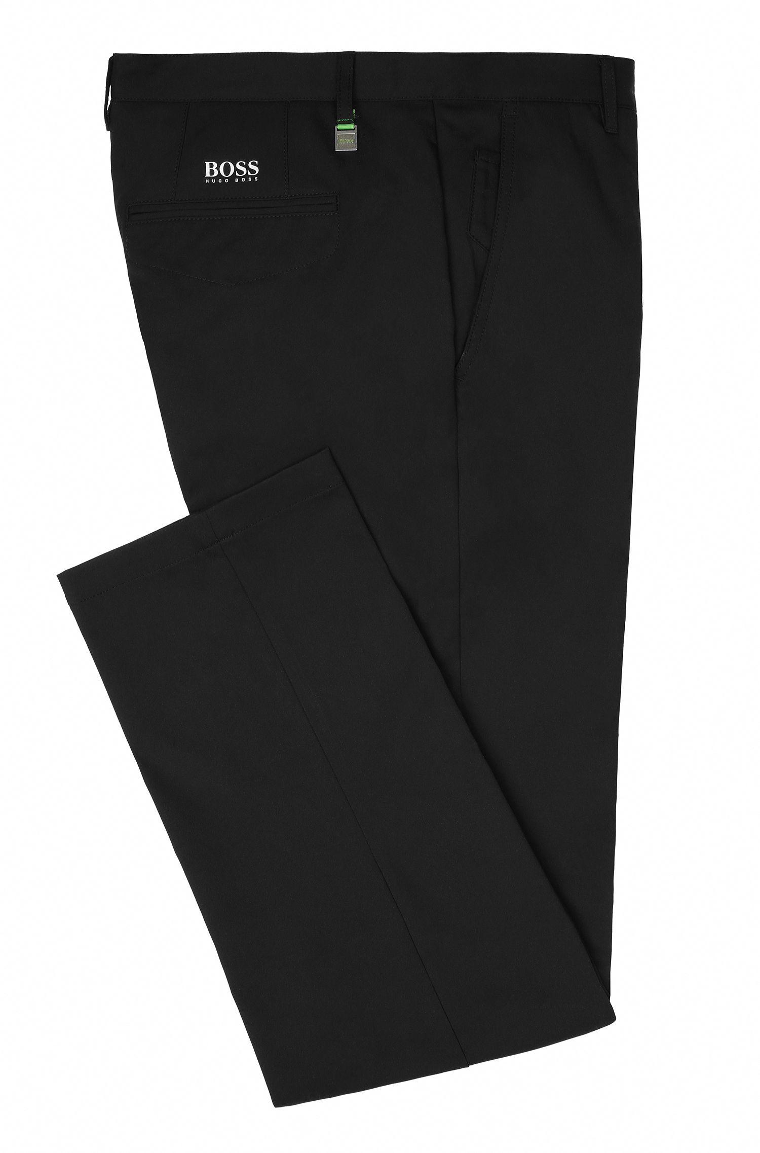 CoolMax Performance Golf Pants, Slim Fit | Hakan, Black