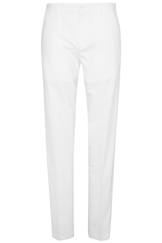 CoolMax Performance Golf Pants, Slim Fit | Hakan, White