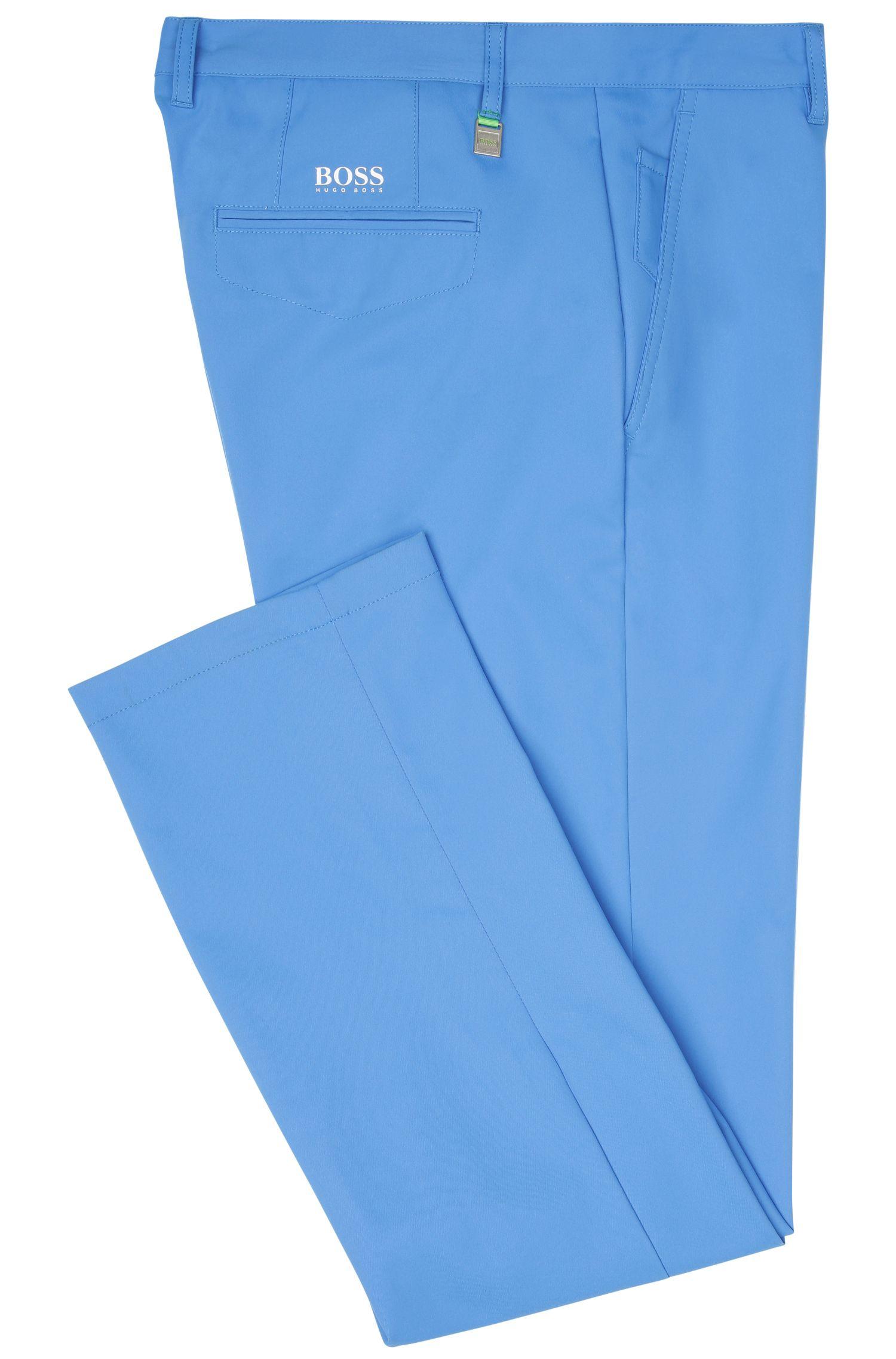 CoolMax Performance Golf Pants, Slim Fit | Hakan, Blue