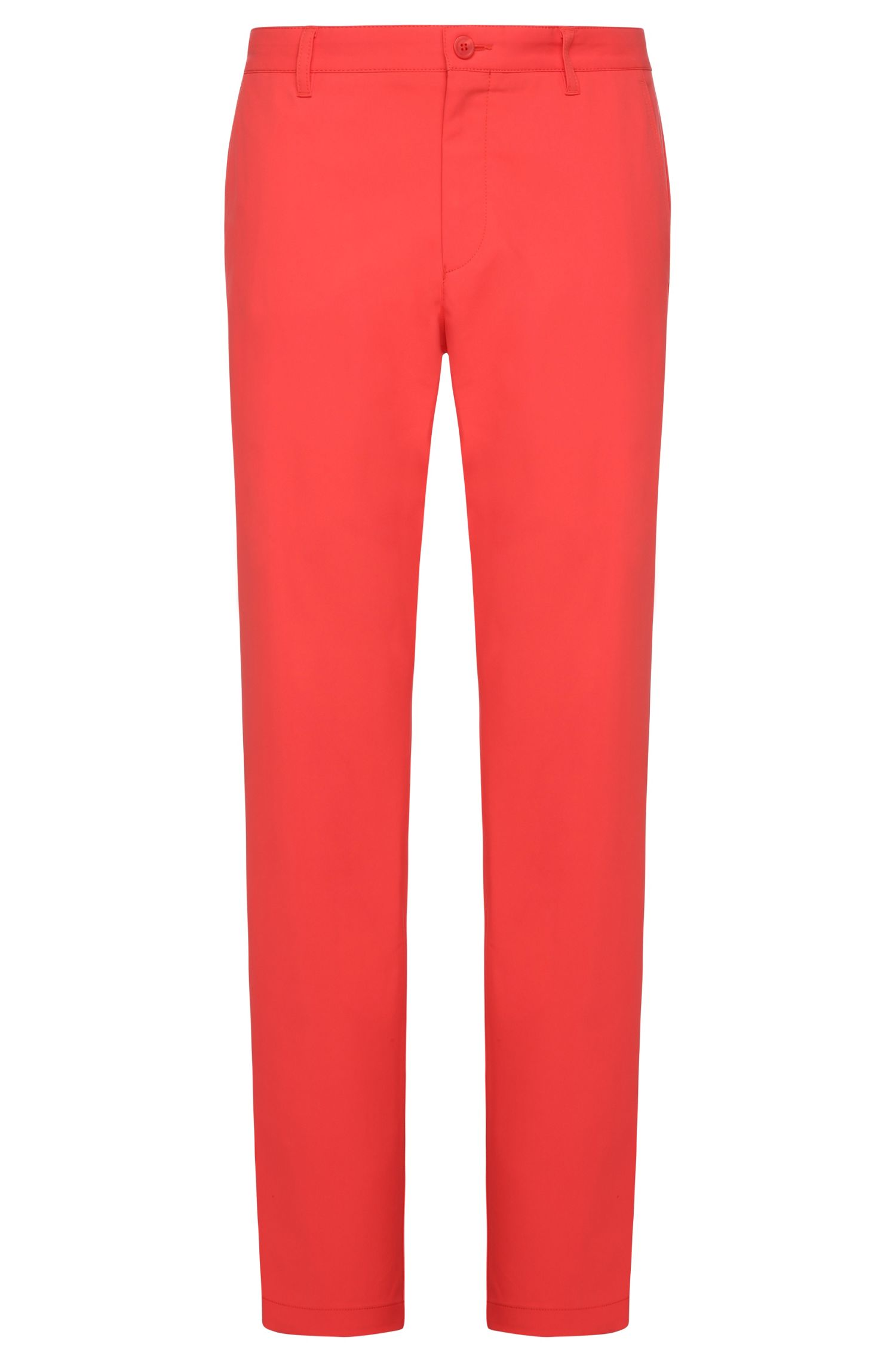 CoolMax Performance Golf Pants, Slim Fit | Hakan, Open Red