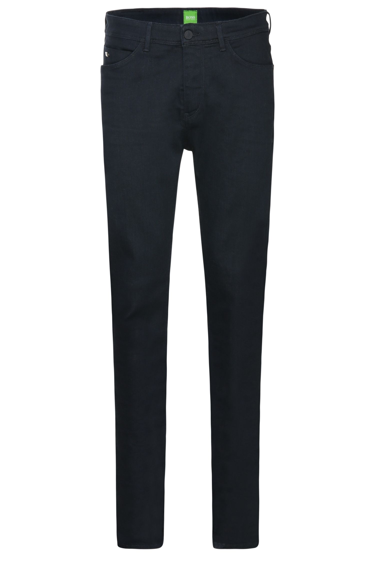 'Derek' | Tapered Fit, 10 oz Stretch Cotton Blend Jeans