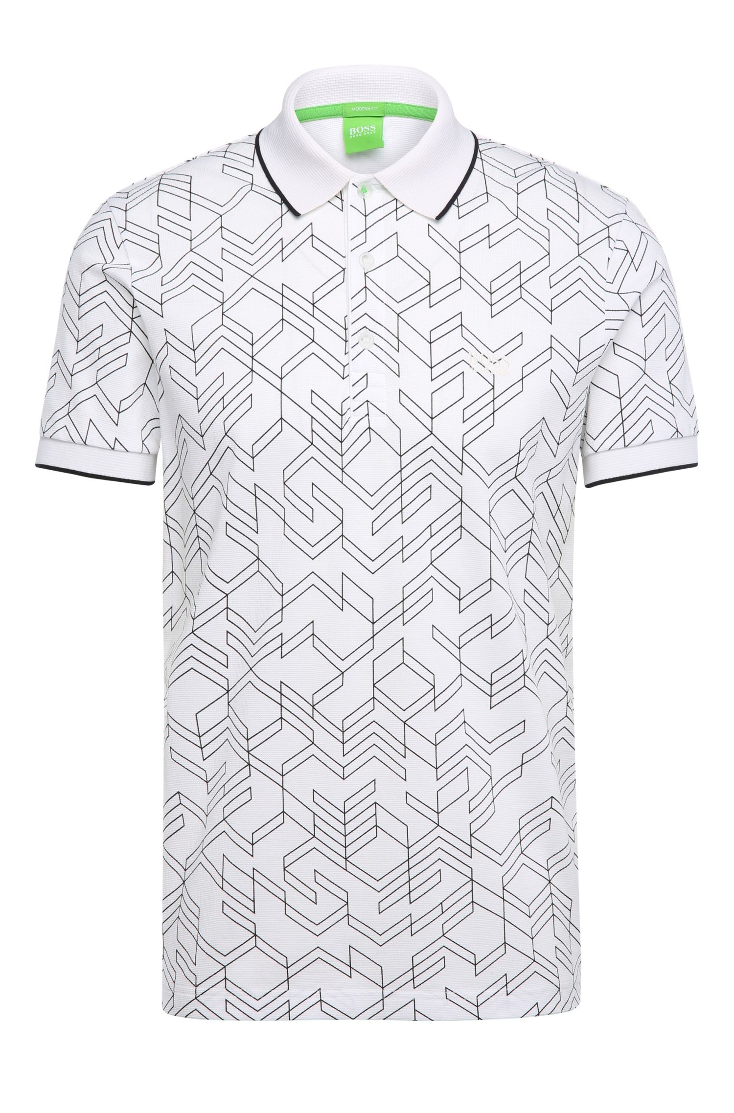 'Paddy' | Modern Fit, Cotton Polo