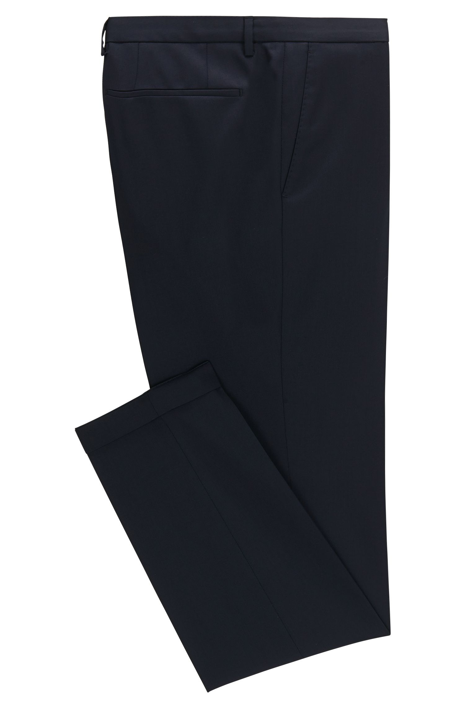 Virgin Wool Dress Pant, Extra Slim Fit | Wave CYL
