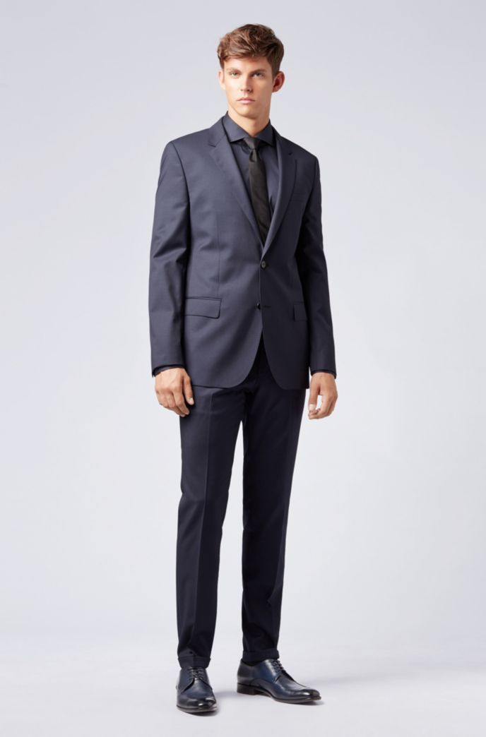 Extra-slim-fit pants in virgin wool