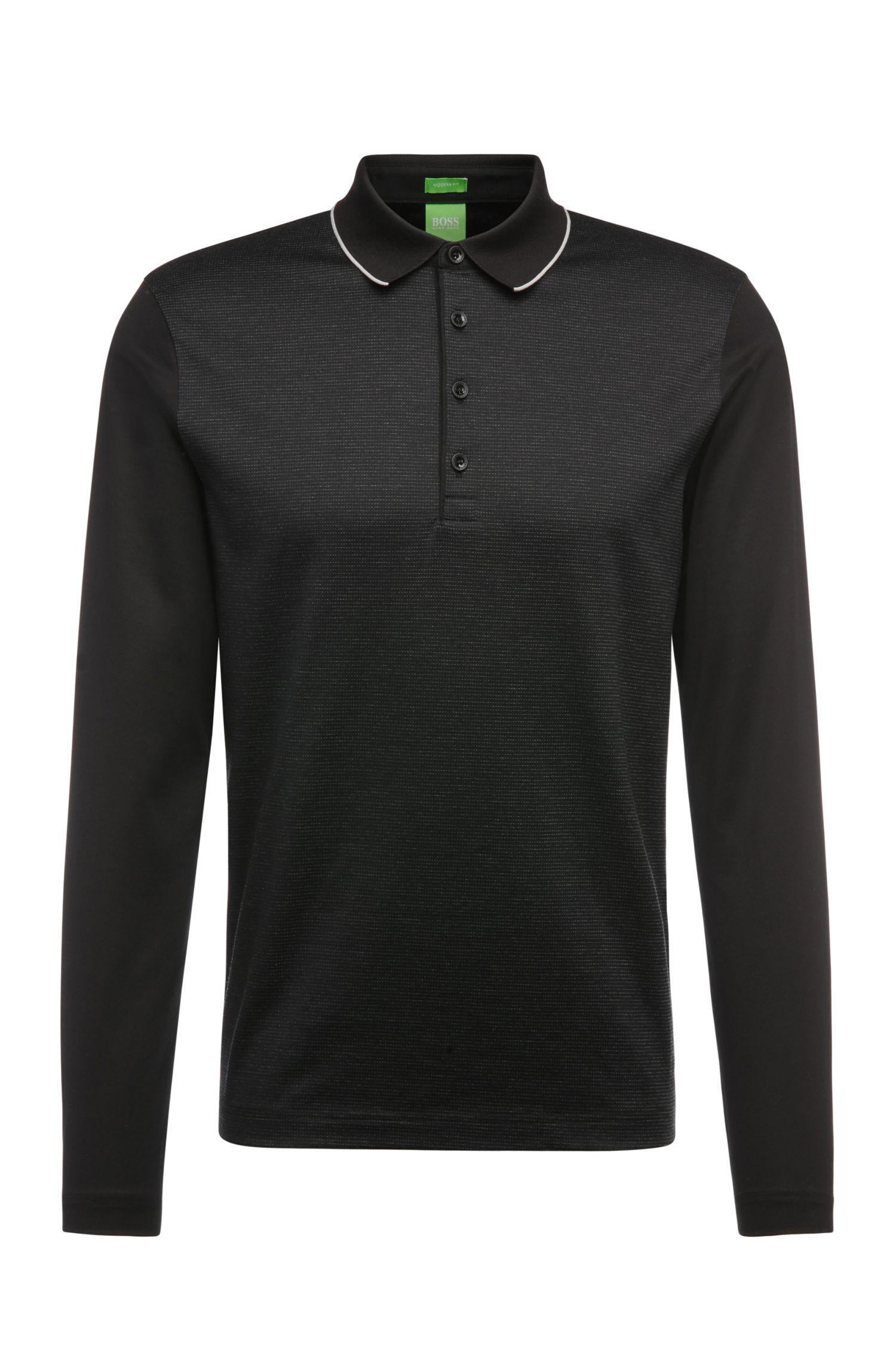 'C Acciano' | Modern Fit, Cotton Polo Shirt